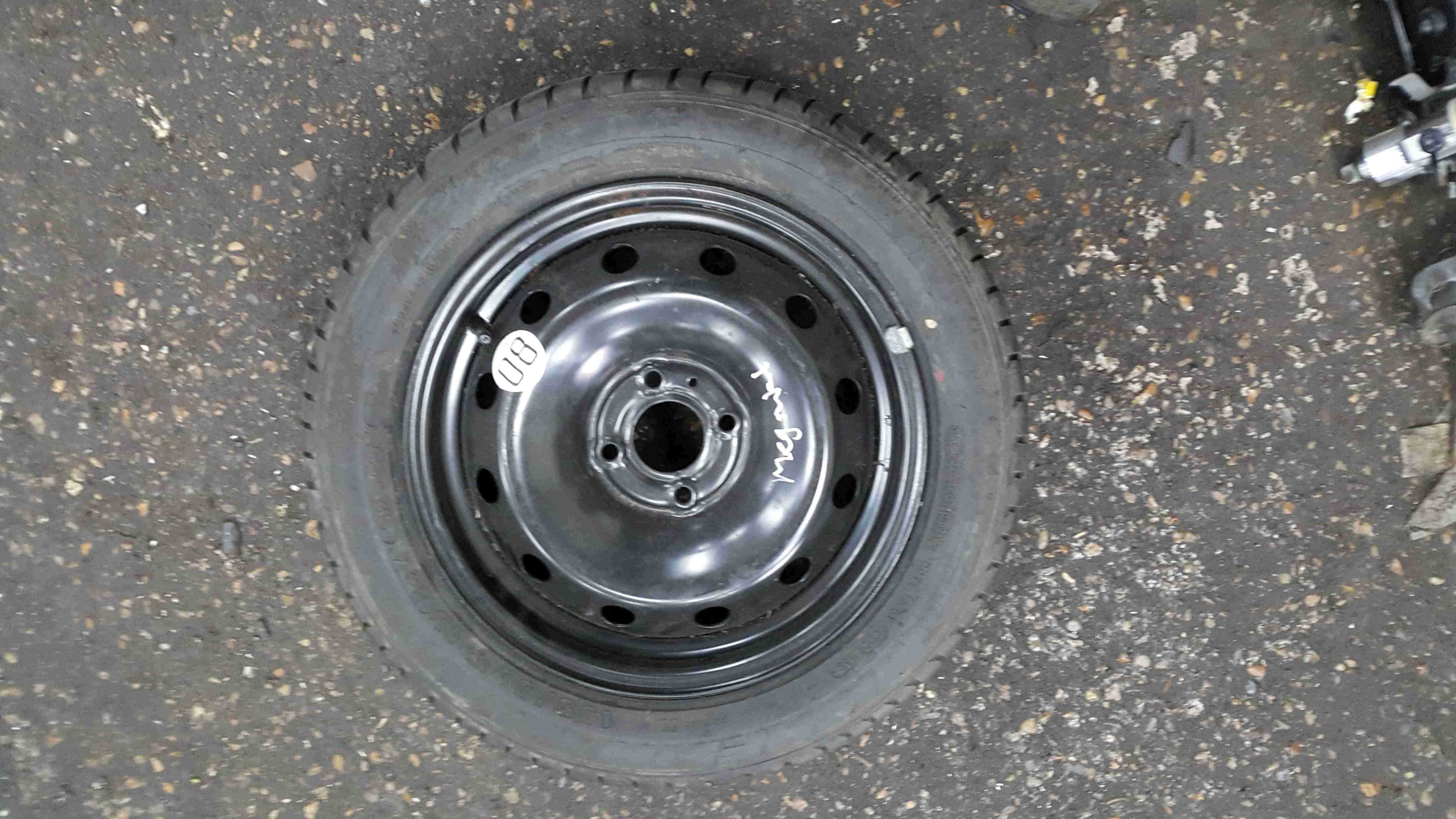 Renault Megane MK1 1999-2002 Spare Steel Wheel Rim  Tyre 195 55 15 8mm Tread