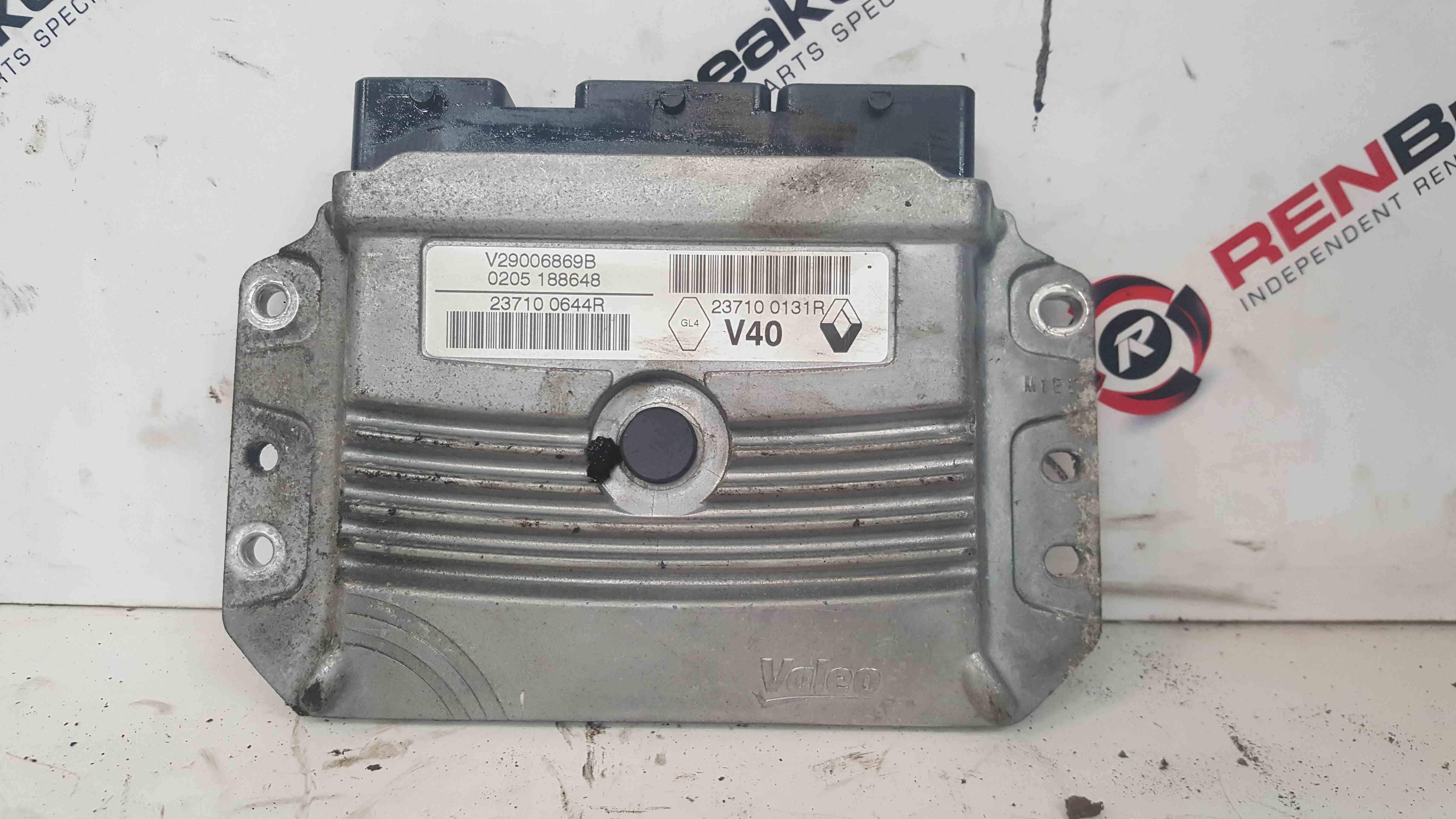 Renault Megane MK3 2008-2012 1.6 16v Engine Control Unit ECU 237100644R
