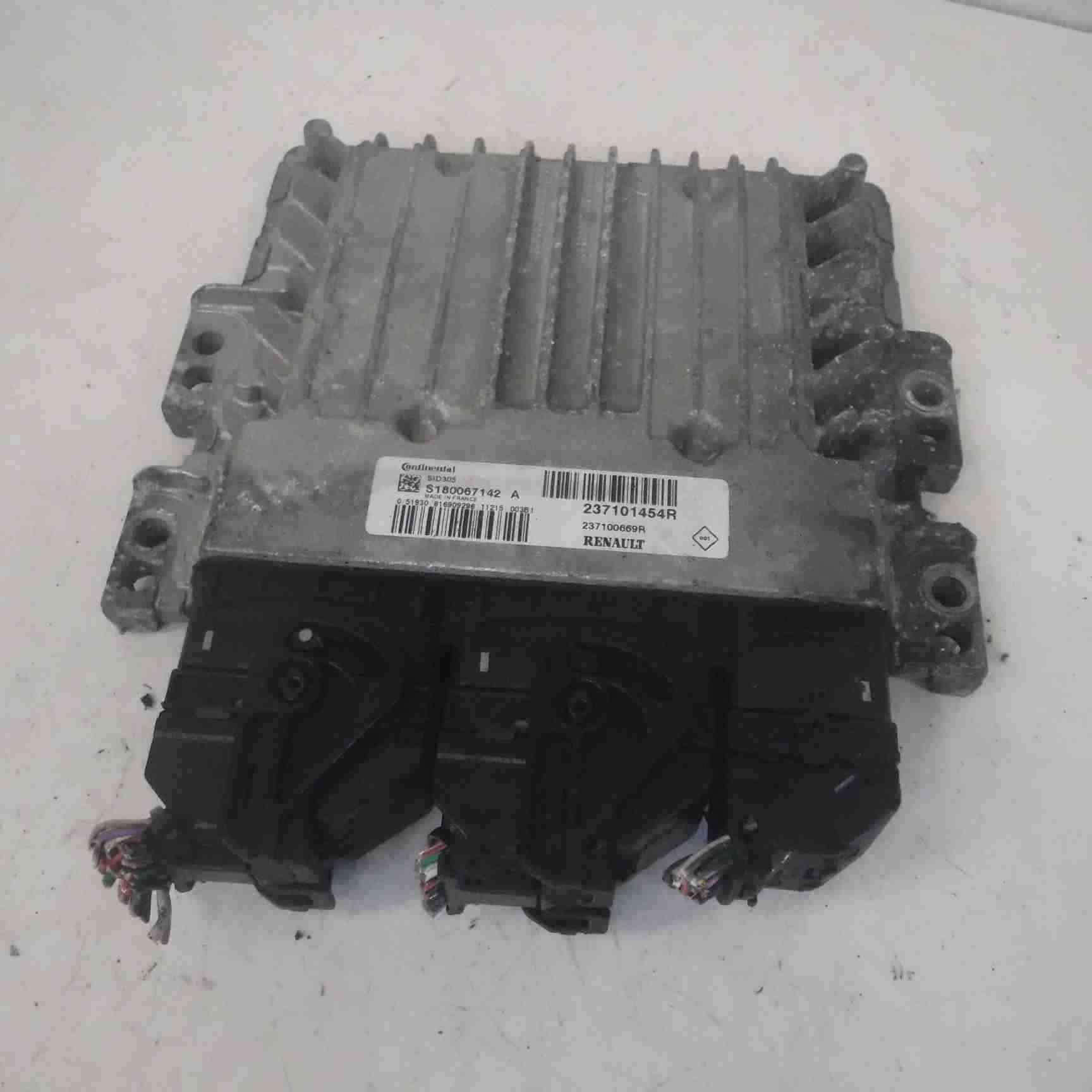 Renault Megane MK3 2008-2012 Engine Control Unit Module 237101454R