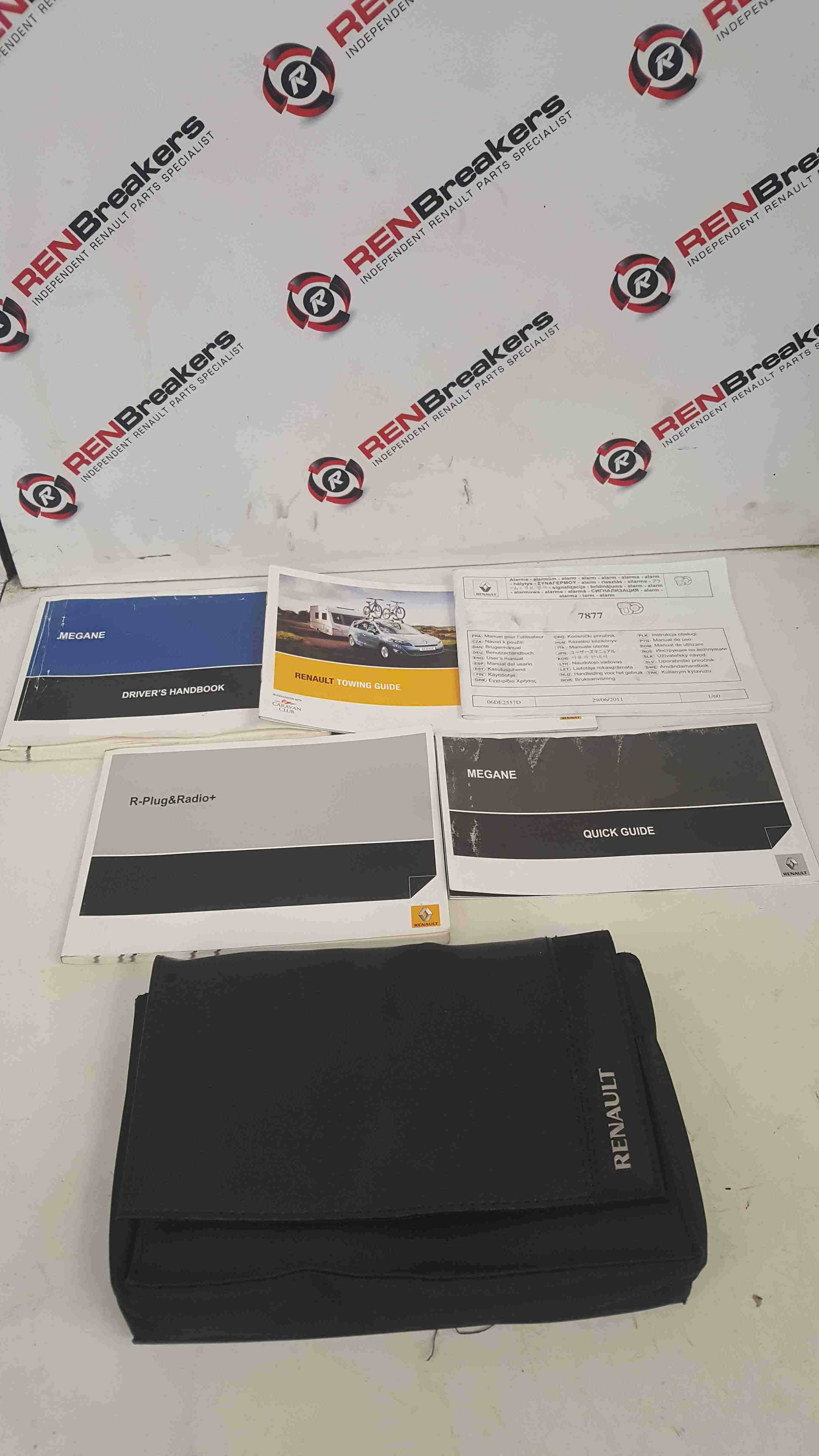 Renault Megane MK3 2008-2012 Handbook Documents Guides Booklet