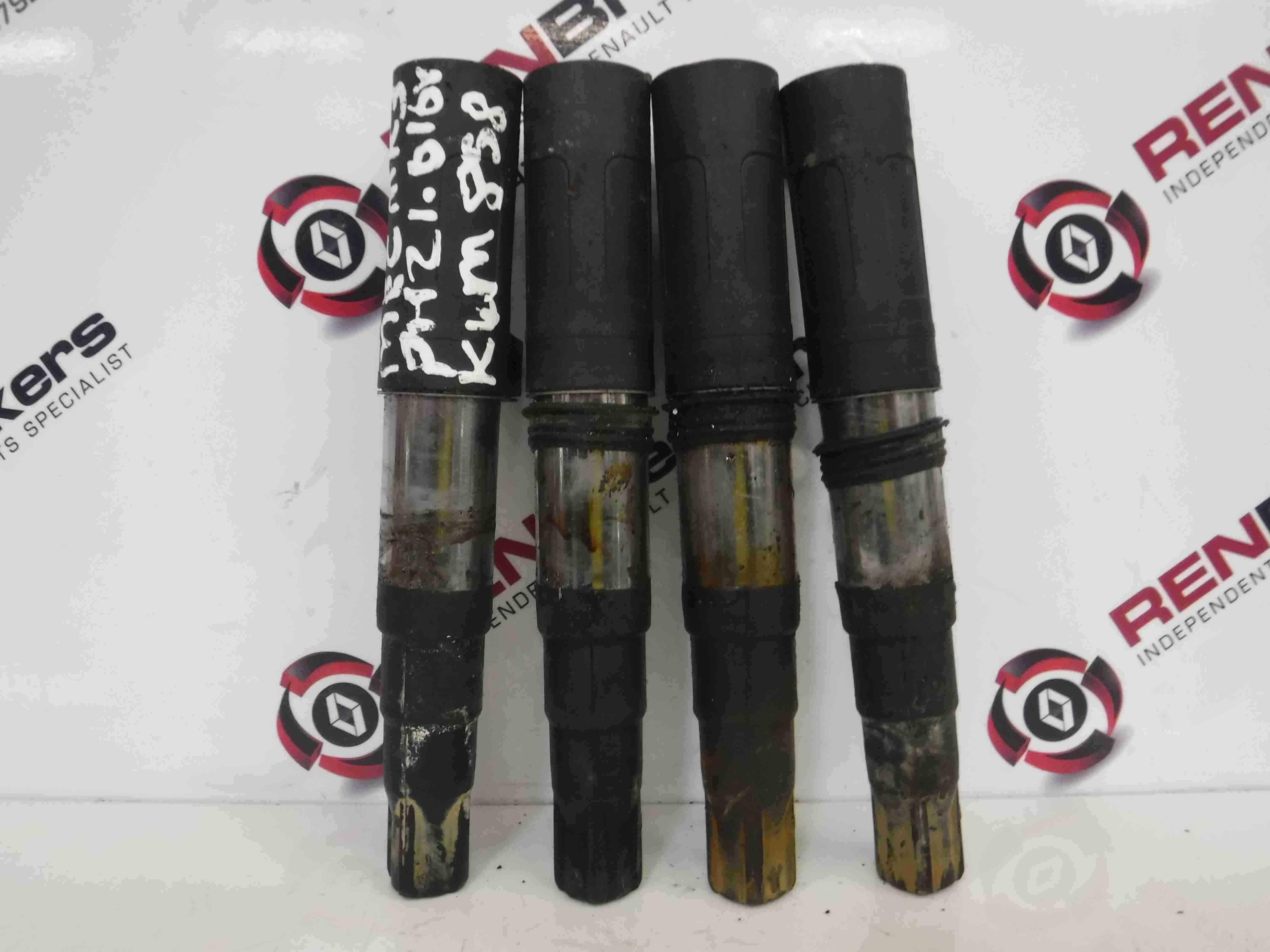 Renault Megane MK3 2008-2014 1.6 16v Ignition Coil Pack Pencils X4 Set
