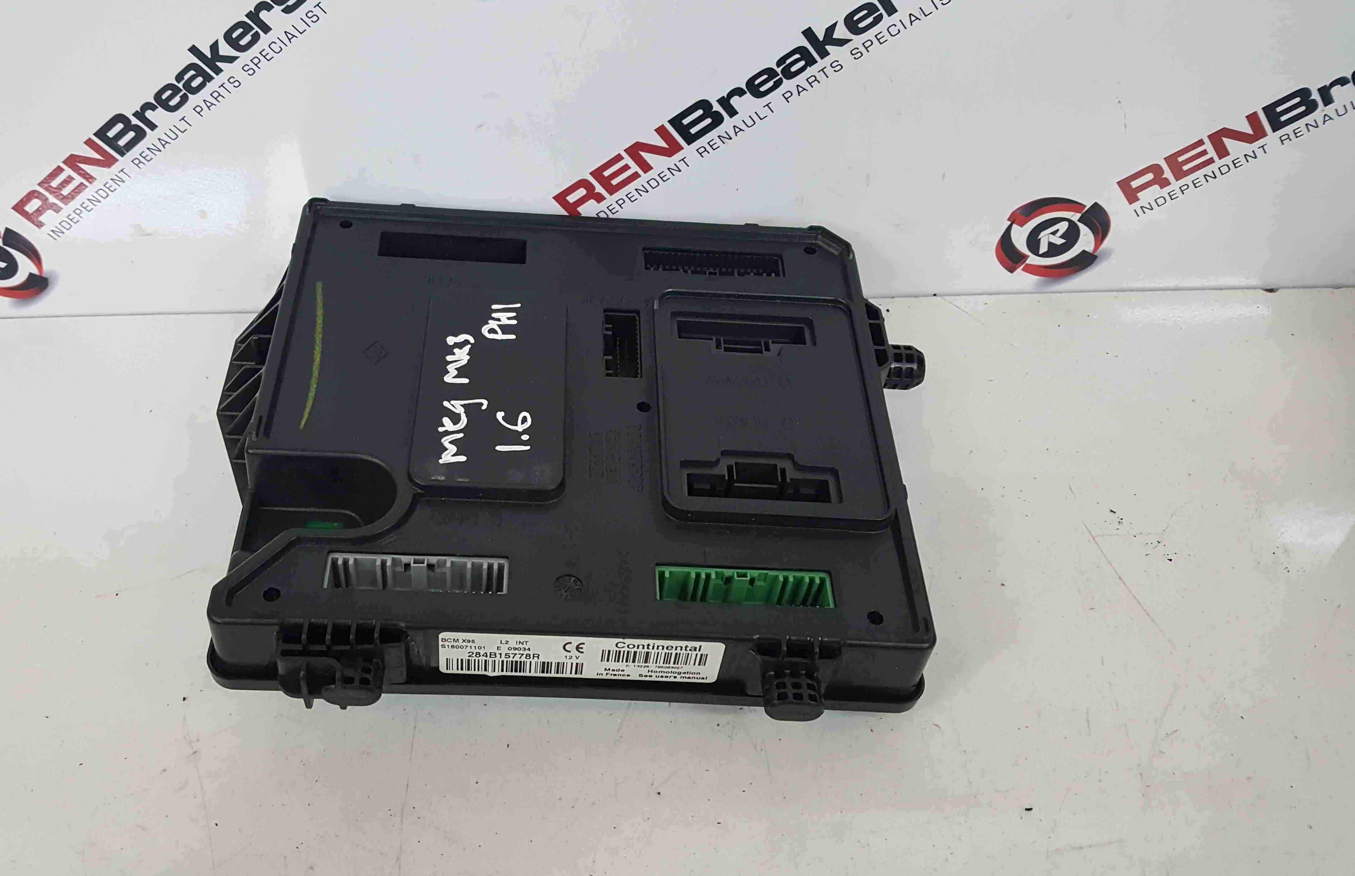 Renault Megane MK3 2008-2014 Body Control Module BCM 284B15778R