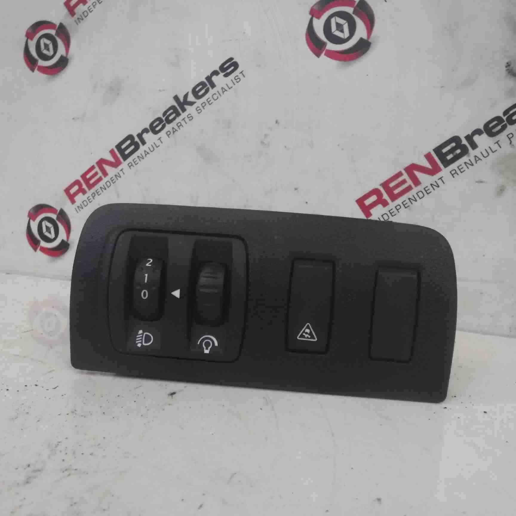 Renault Megane + Scenic MK3 2008-2014 Headlight Adjuster Panel Traction Control