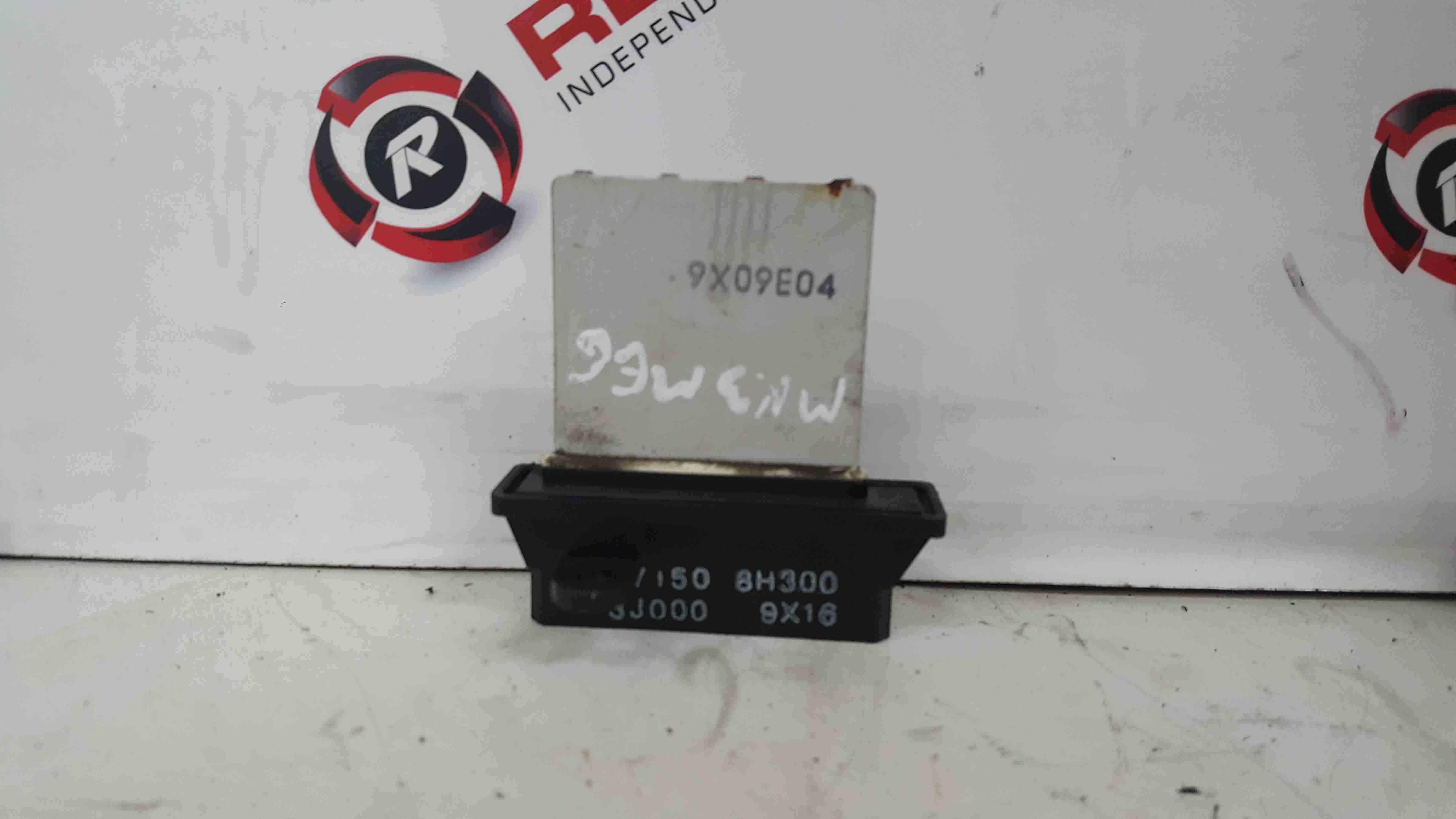 Renault Megane MK3 2008-2014 Heater Resistor 9X09E04