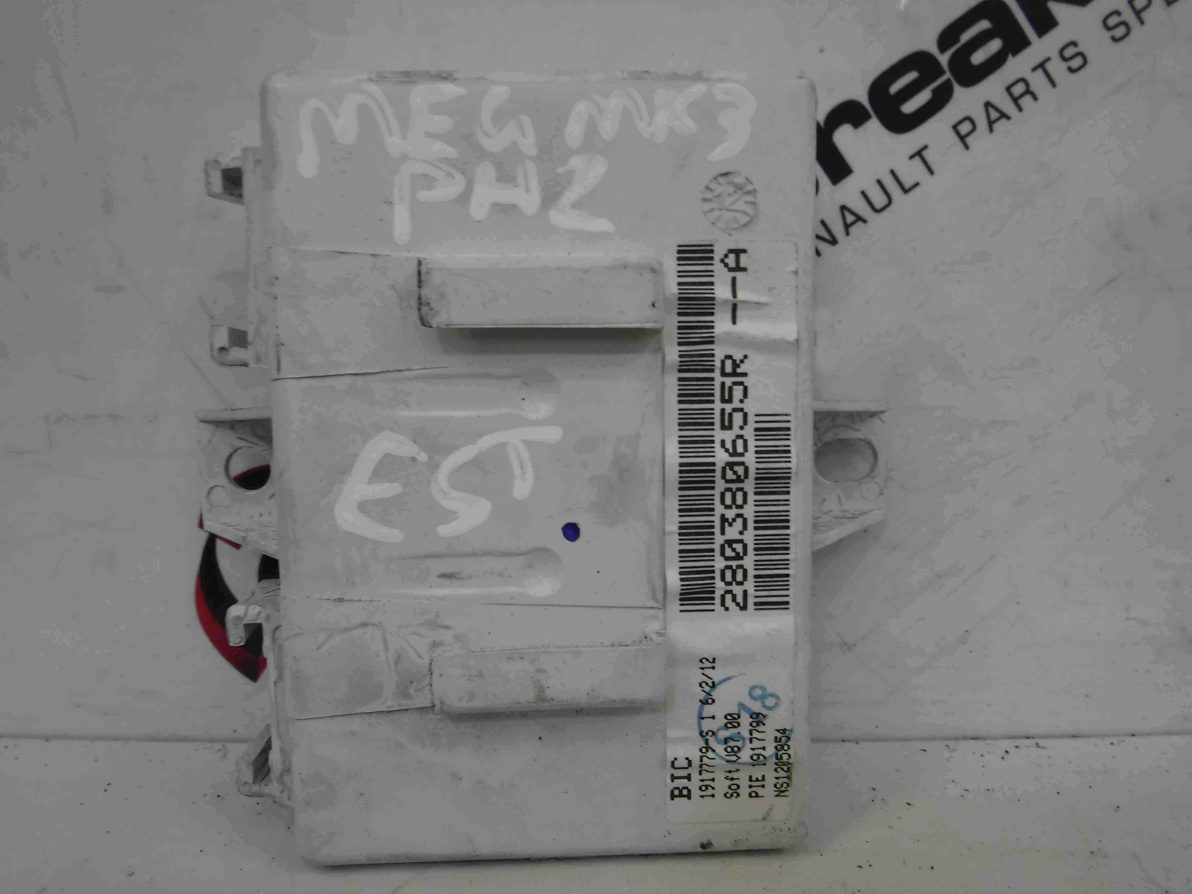 Renault Megane MK3 2008-2014 Navigation Control ECU Module 280380655R