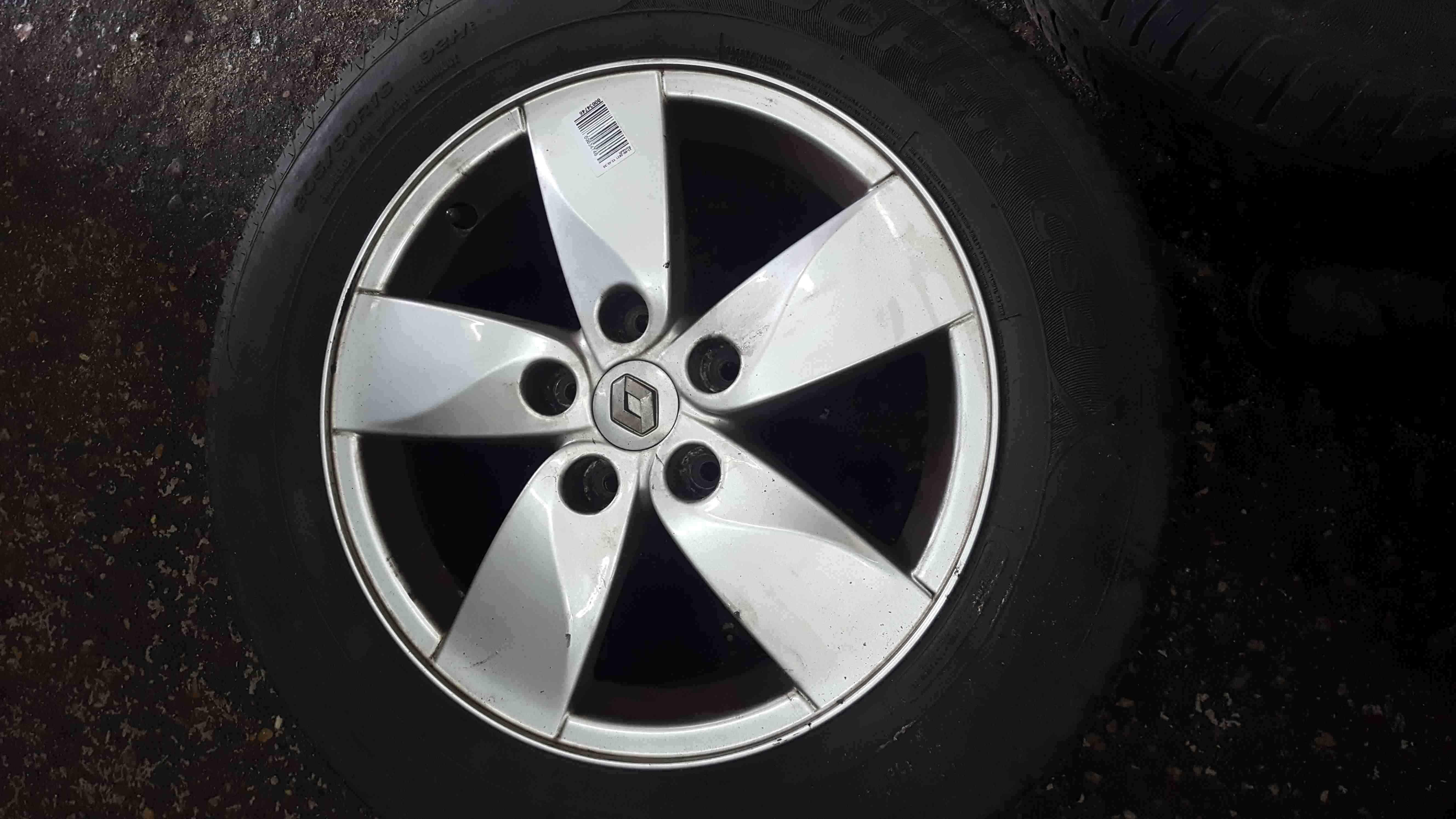 Renault Megane MK3 2008-2014 Proteus Alloy Wheel + Tyre 205 60 16 5mm 403000064R