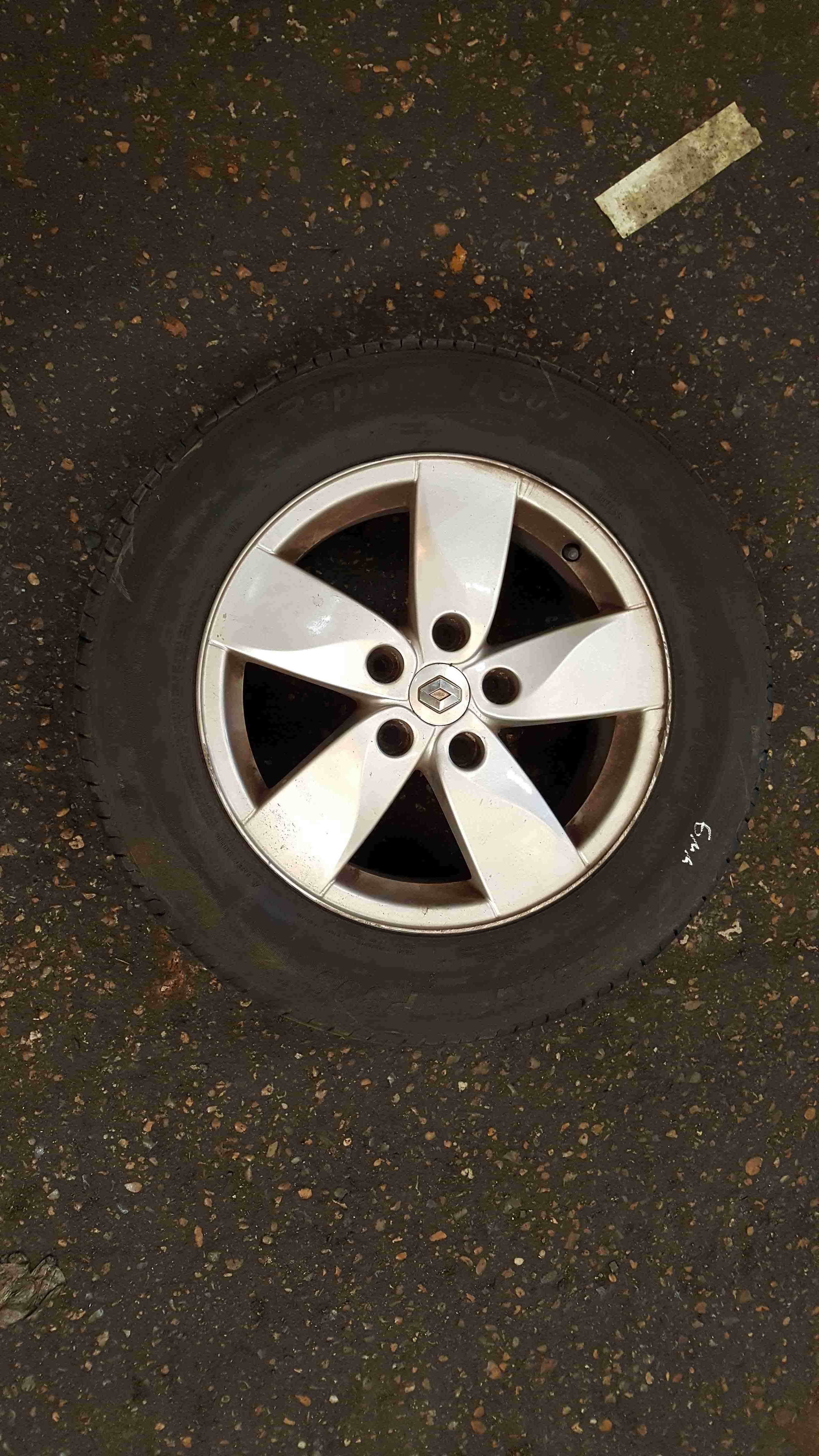 Renault Megane MK3 2008-2014 Proteus Alloy Wheel 16inch 3/5