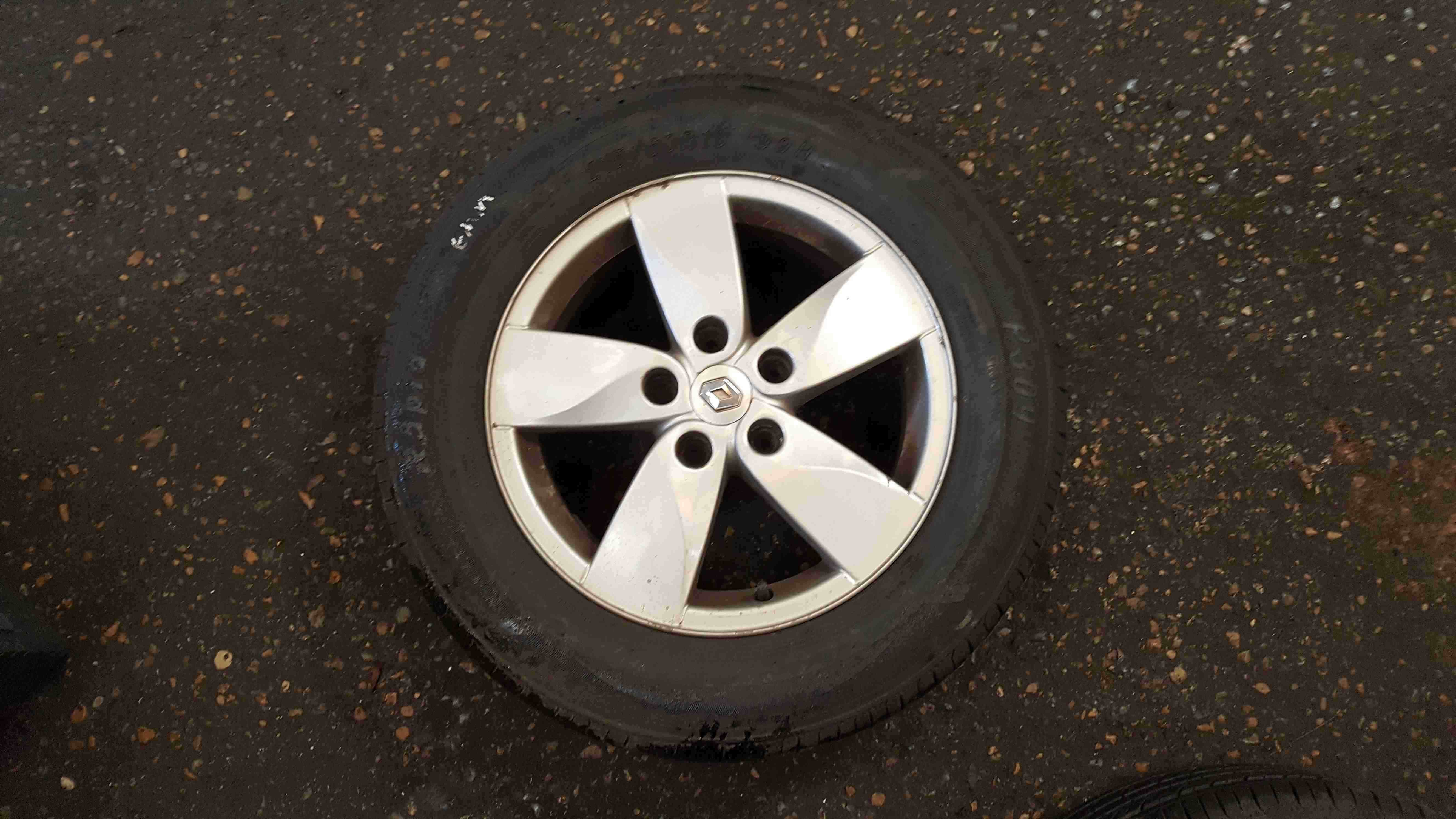 Renault Megane MK3 2008-2014 Proteus Alloy Wheel 215 60 16 6mm