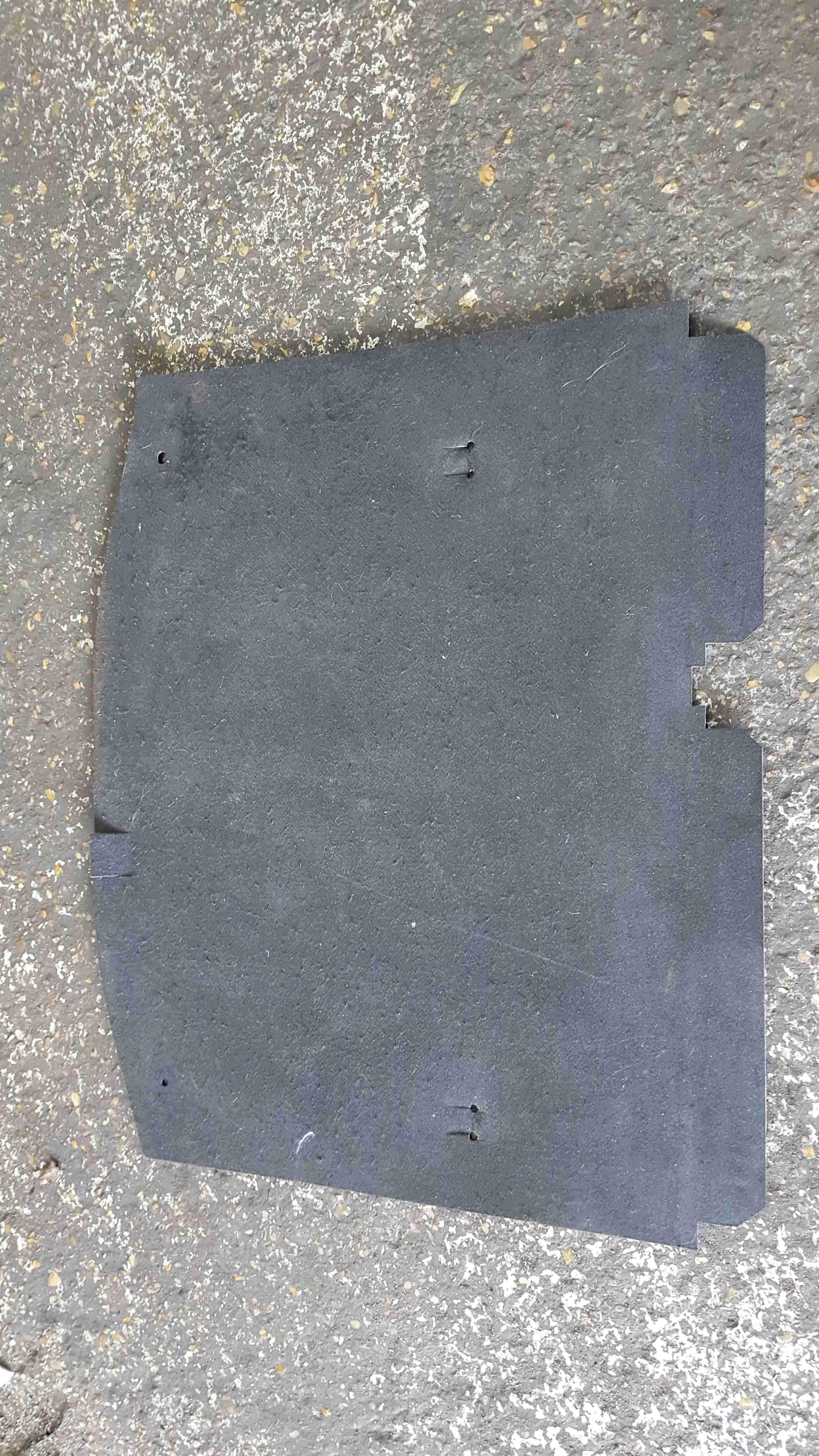 Renault Megane MK3 2008-2014 Rear Boot Carpet Mat 849020044R