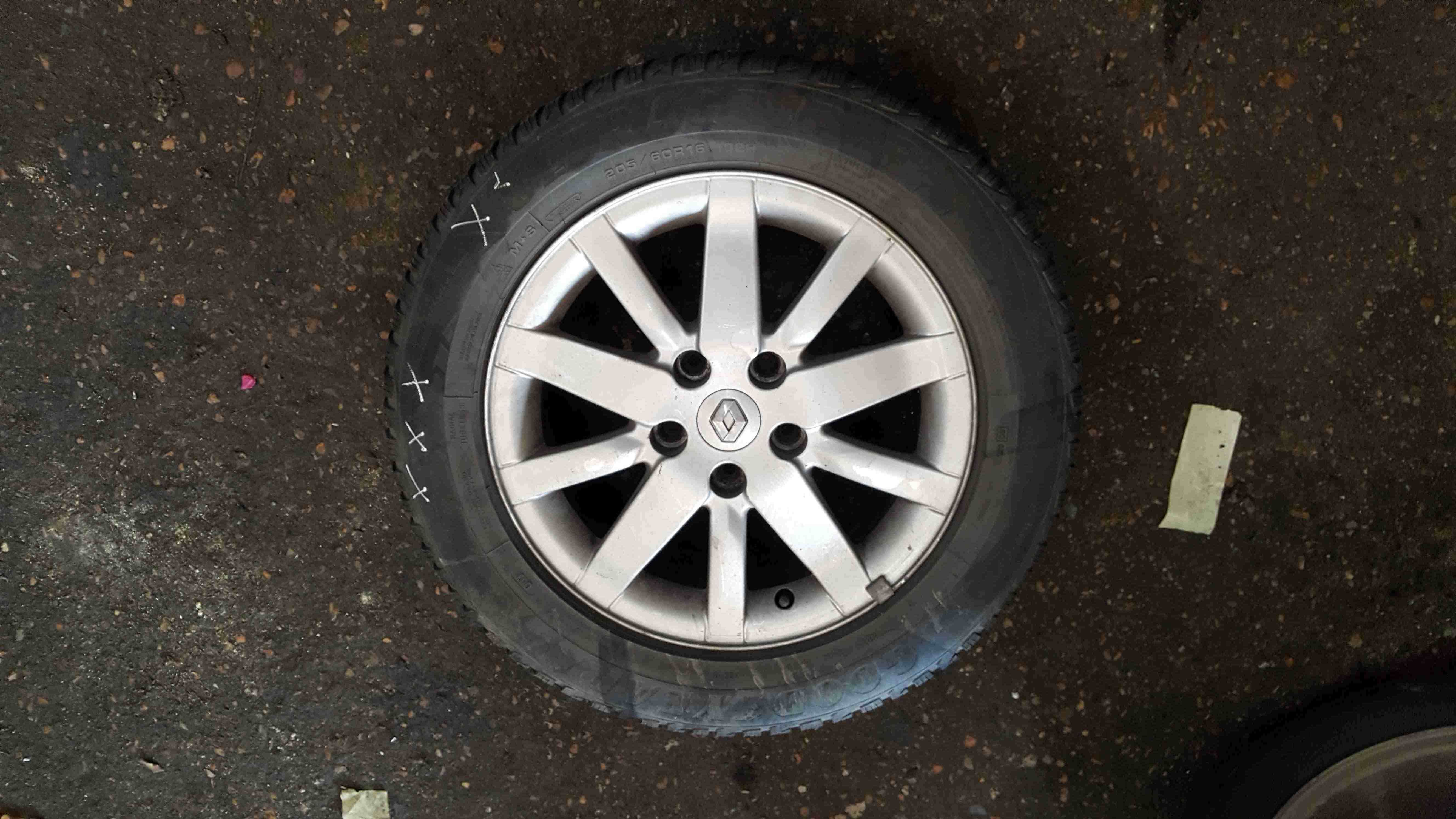 Renault Megane MK3 2008-2014 Spirale Alloy Wheel 16inch