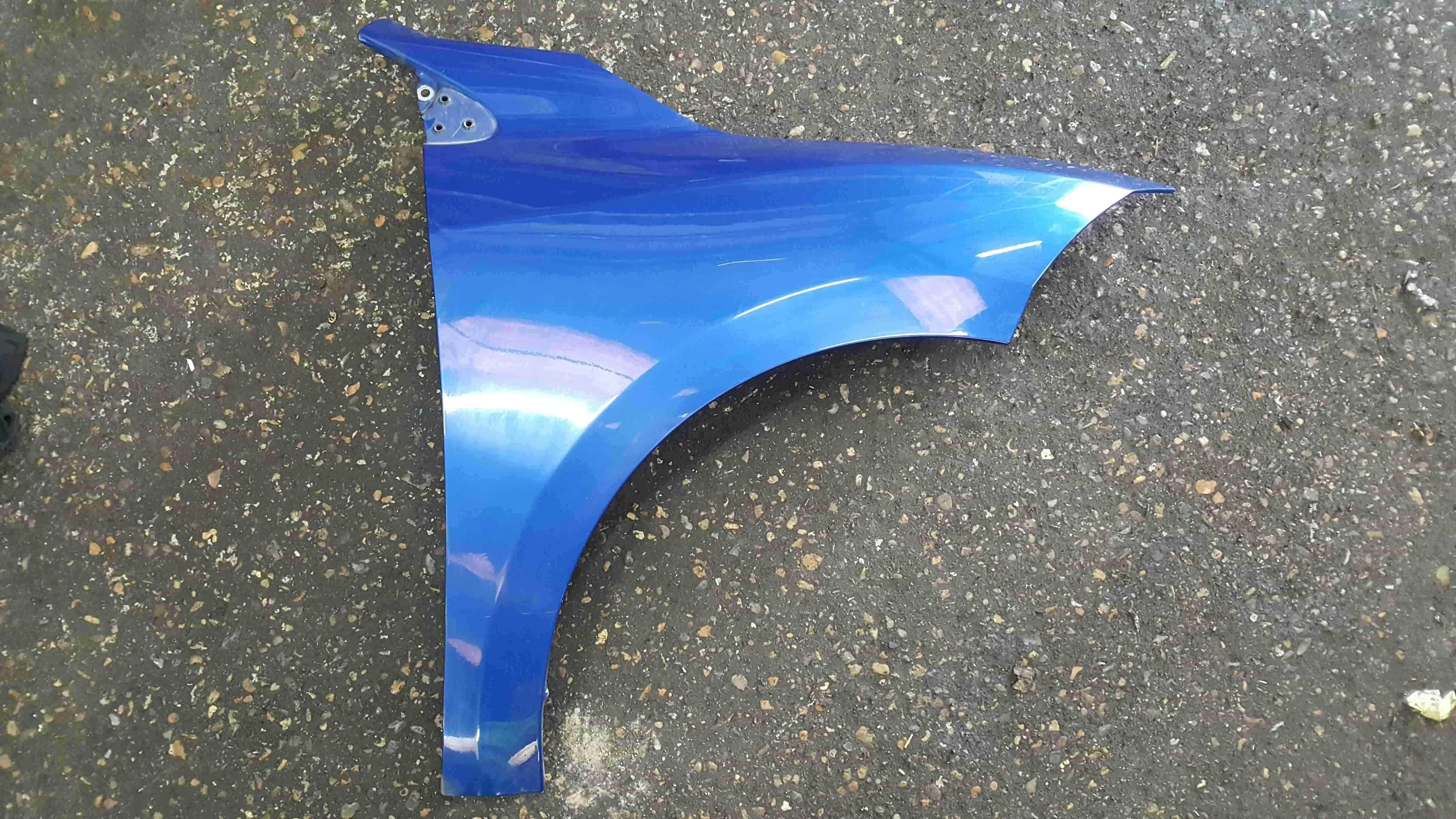 Renault Megane MK3 HB 2008-2014 Drivers OS Wing Blue TERNA