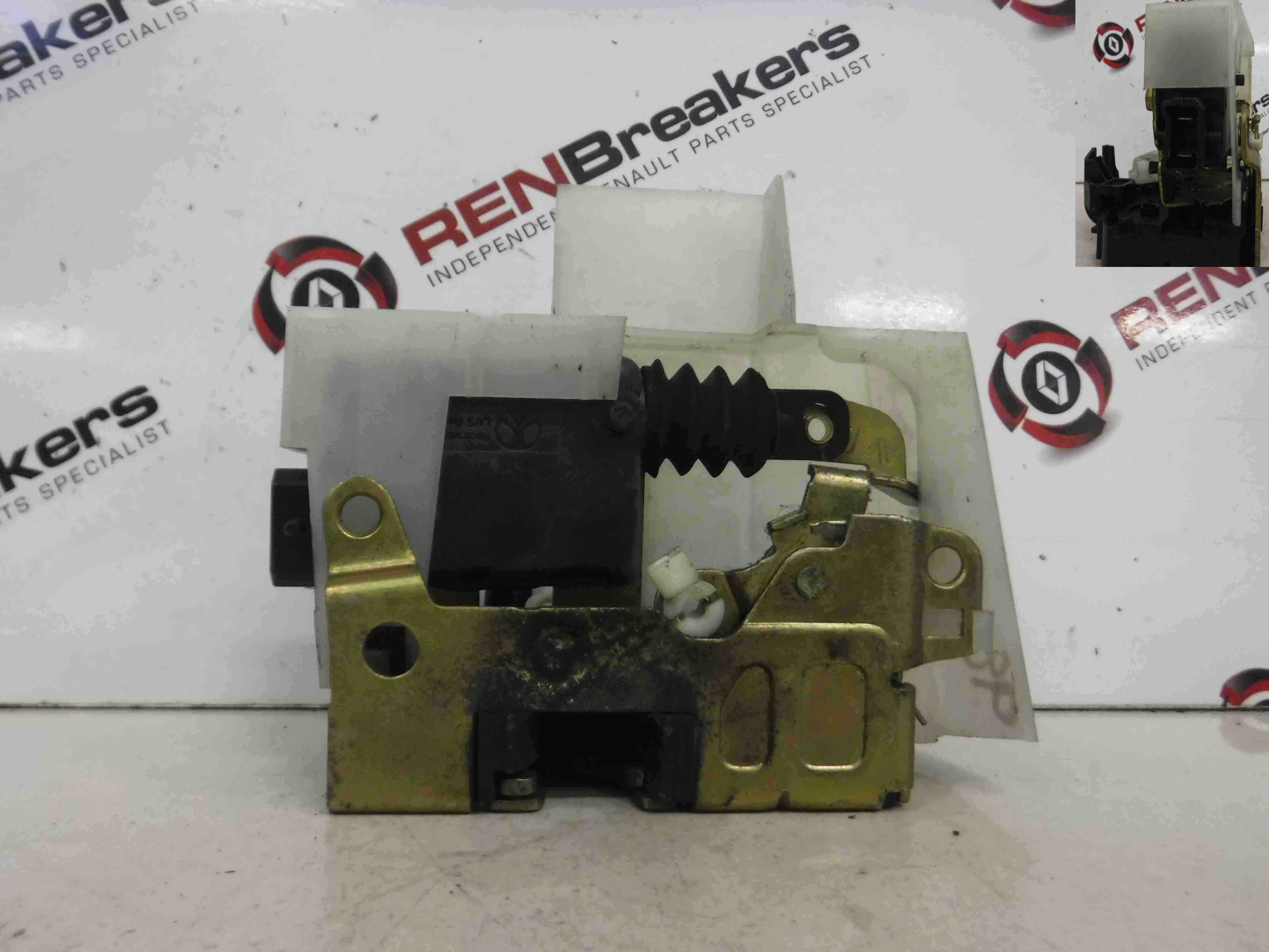 Renault Megane Scenic 1997-1999 Drivers OSF Front Door Lock Mechanism