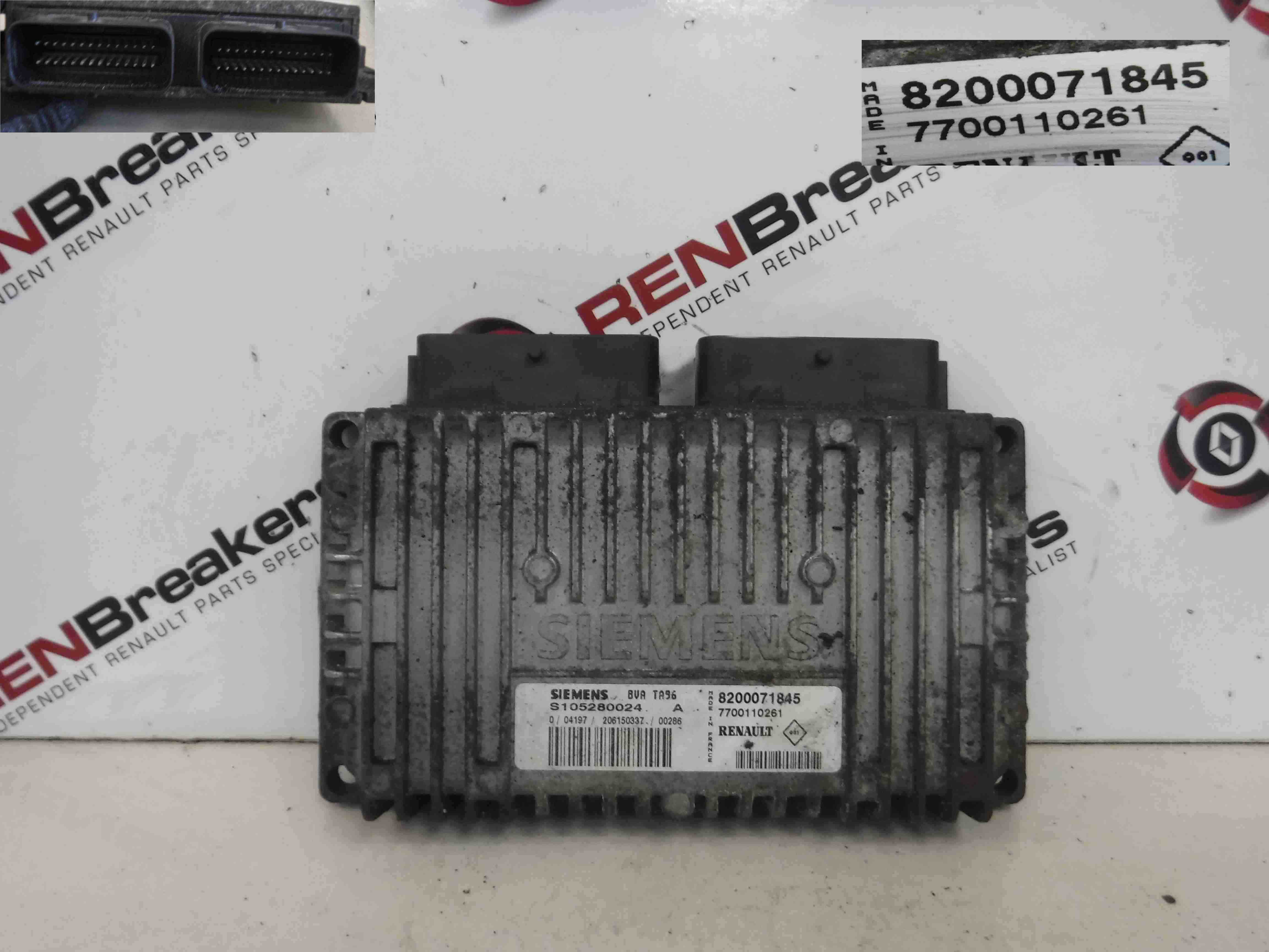 Renault Grand Scenic 2003-2009 2.0 16v Automatic Gearbox ECU