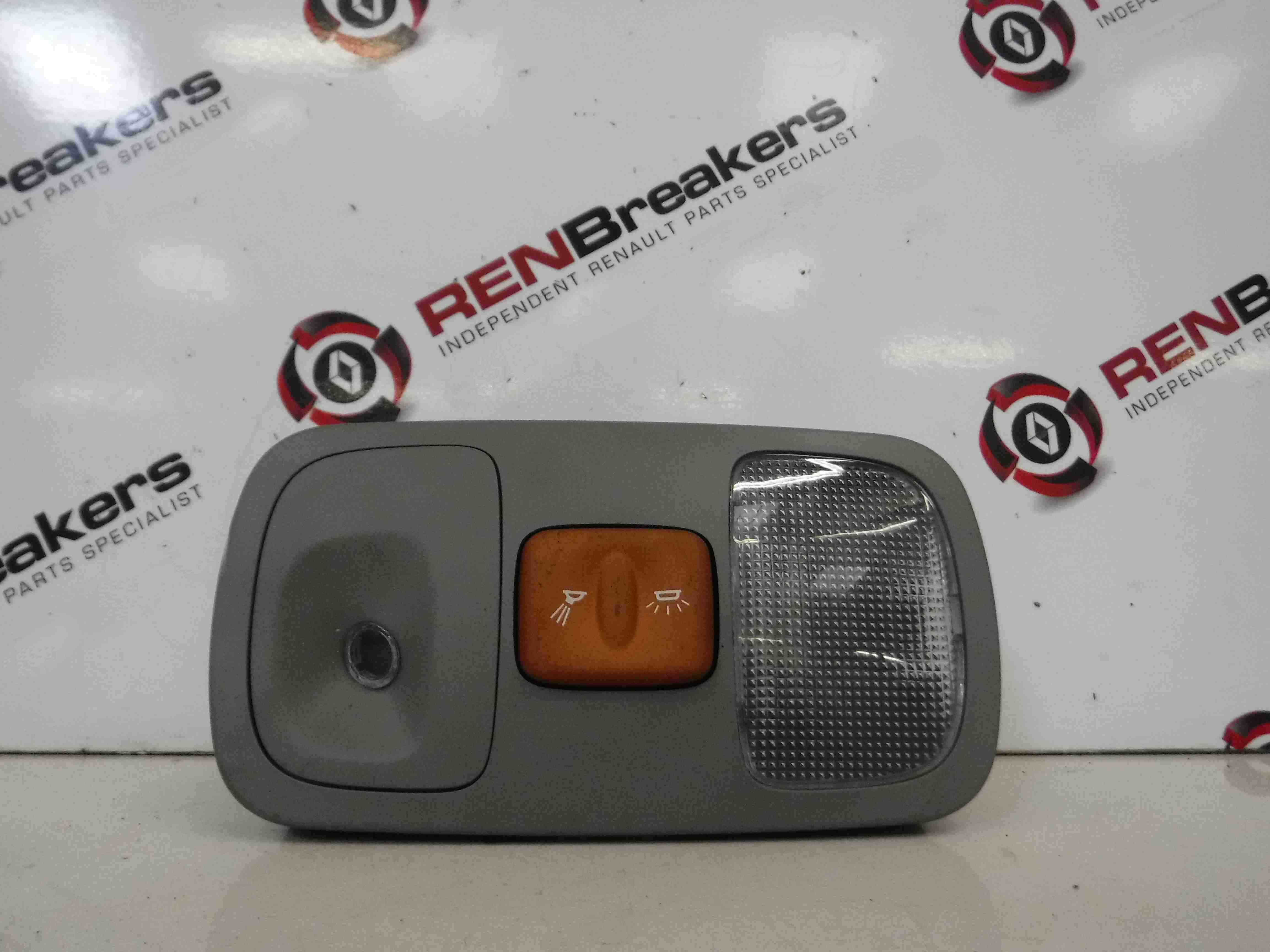 Renault Megane Scenic 1999-2003 Interior Light Courtesy Orange Button