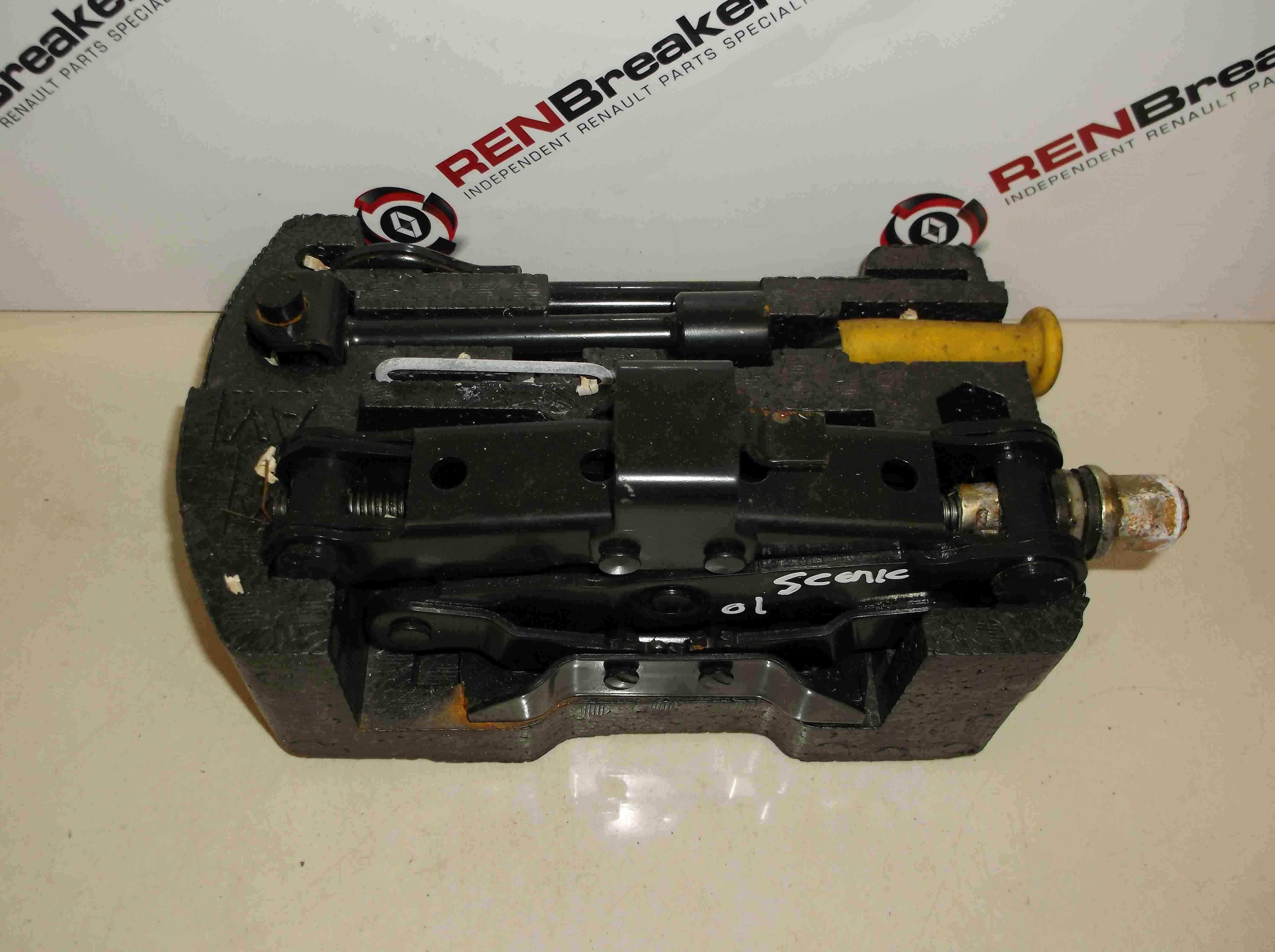 Renault Megane 1999-2003 Jack Set Spare Wheel Brace
