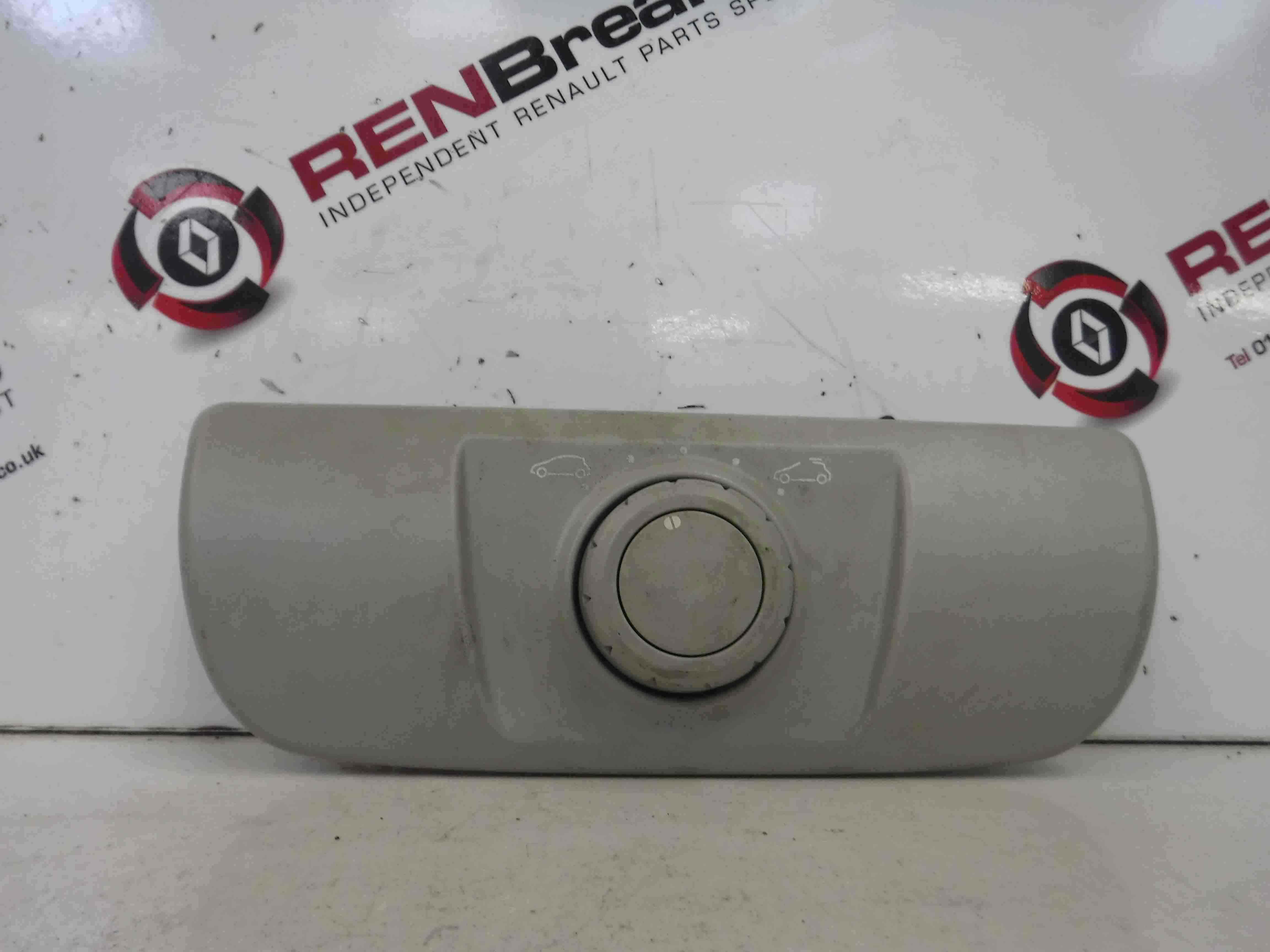 Renault Megane + Scenic 2003-2009 Electric Sunroof Switch Button Panel