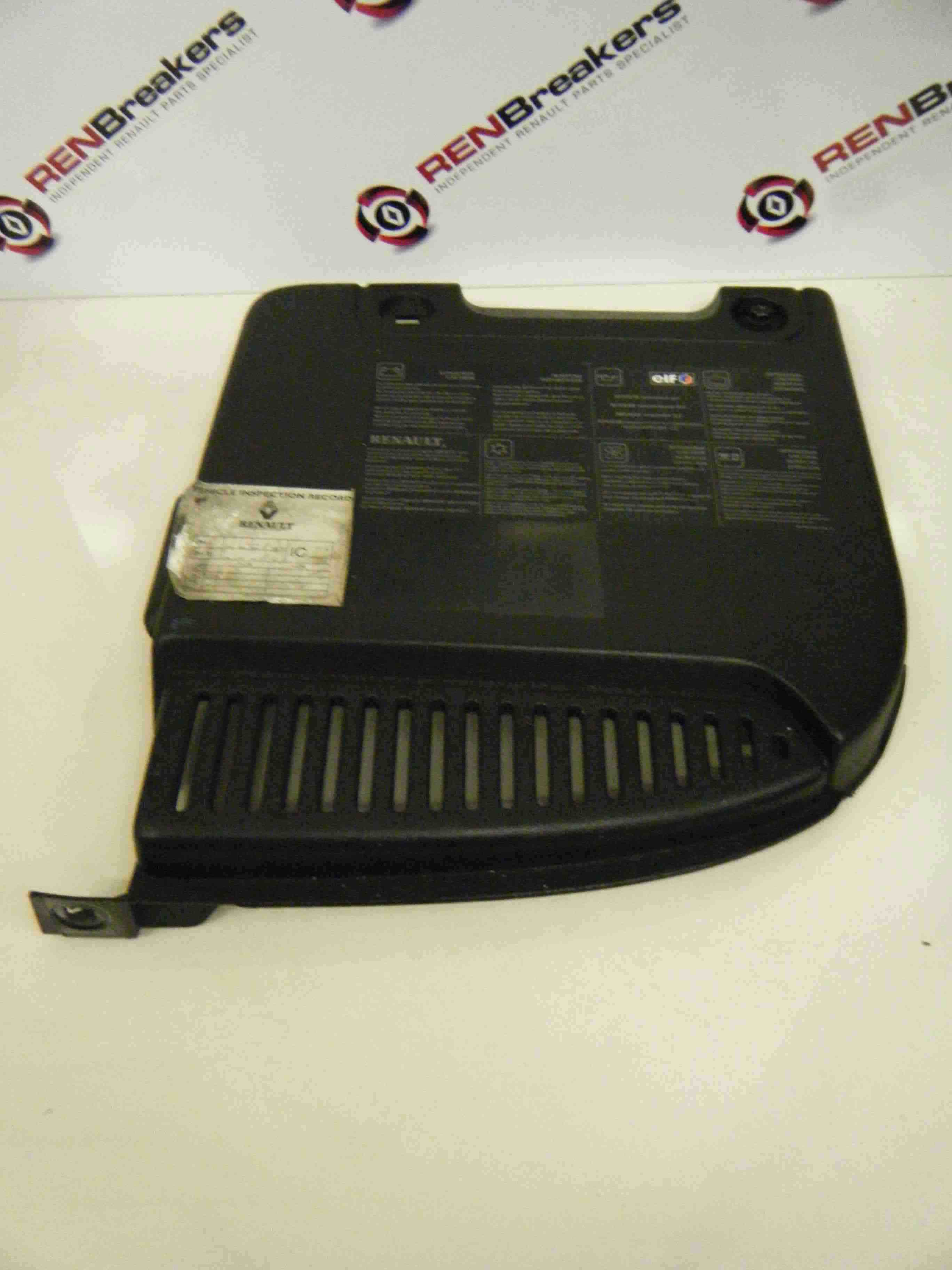 renault megane scenic 2003 2009 engine battery tray cover platic store renault breakers. Black Bedroom Furniture Sets. Home Design Ideas