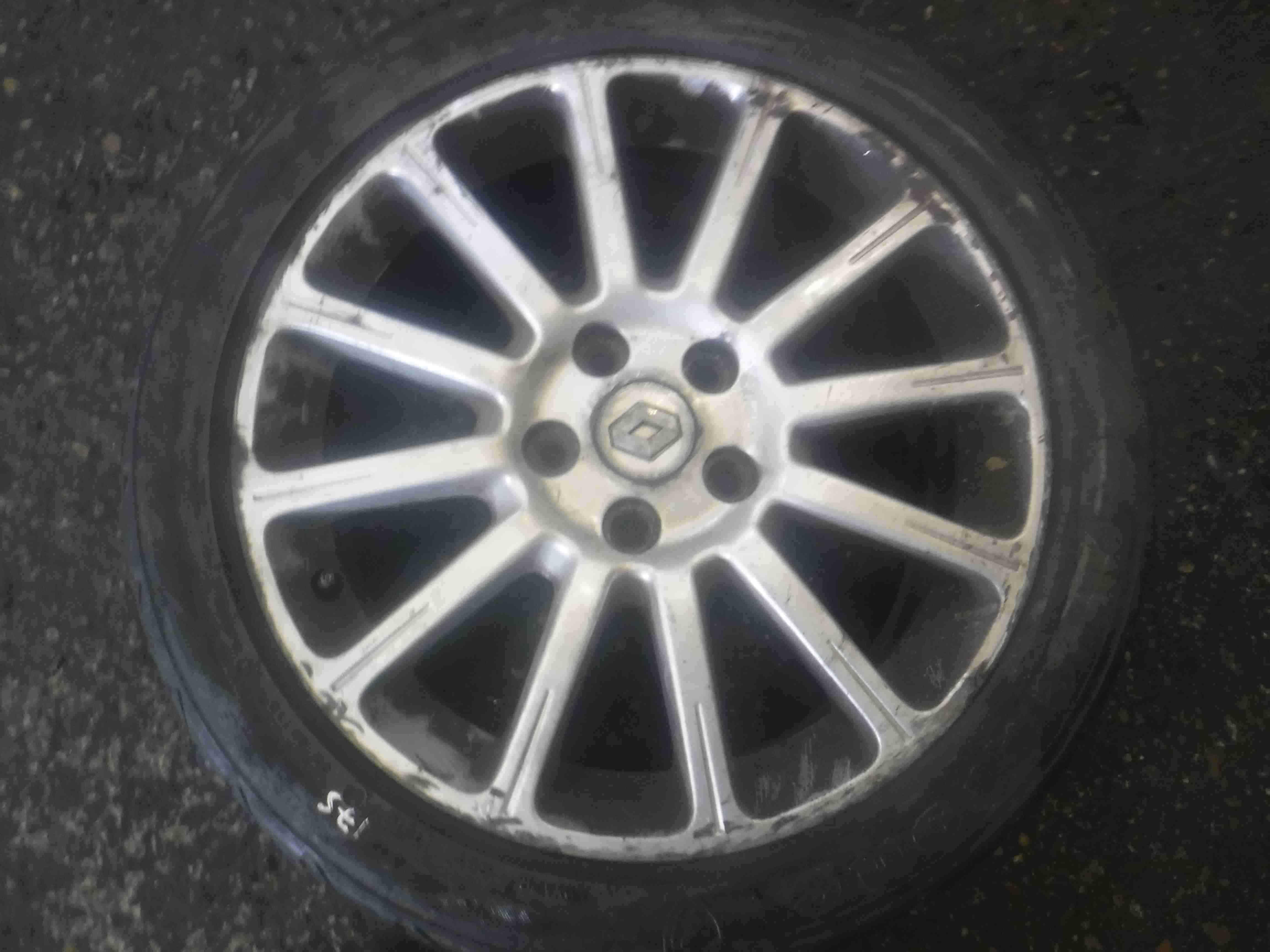 Renault Megane Sport 175 2002-2008 Alloy Wheel 17inch X1 + Tyre 225 45 17 5mm