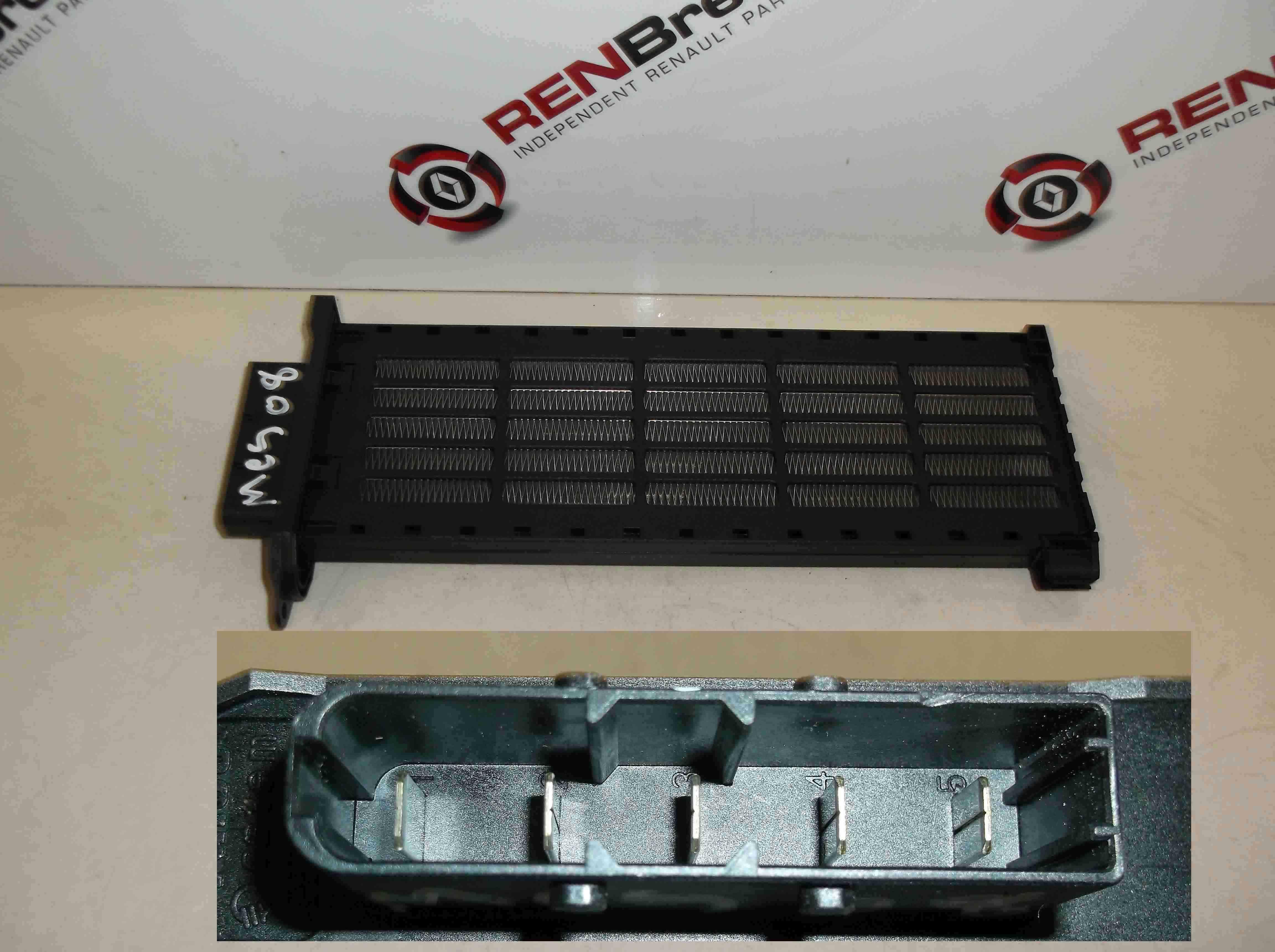 renault megane sport 2002 2008 175 2 0 dci heater resistor ebay. Black Bedroom Furniture Sets. Home Design Ideas