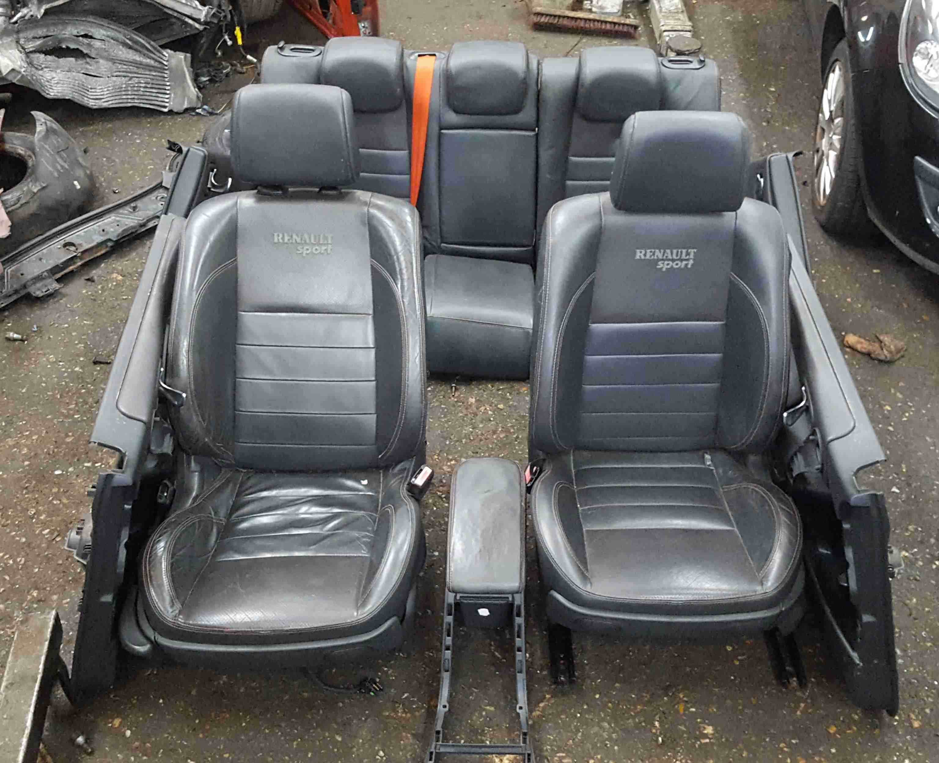 Renault Megane Sport 2002-2008 225 Leather Interior Set Chairs Cards