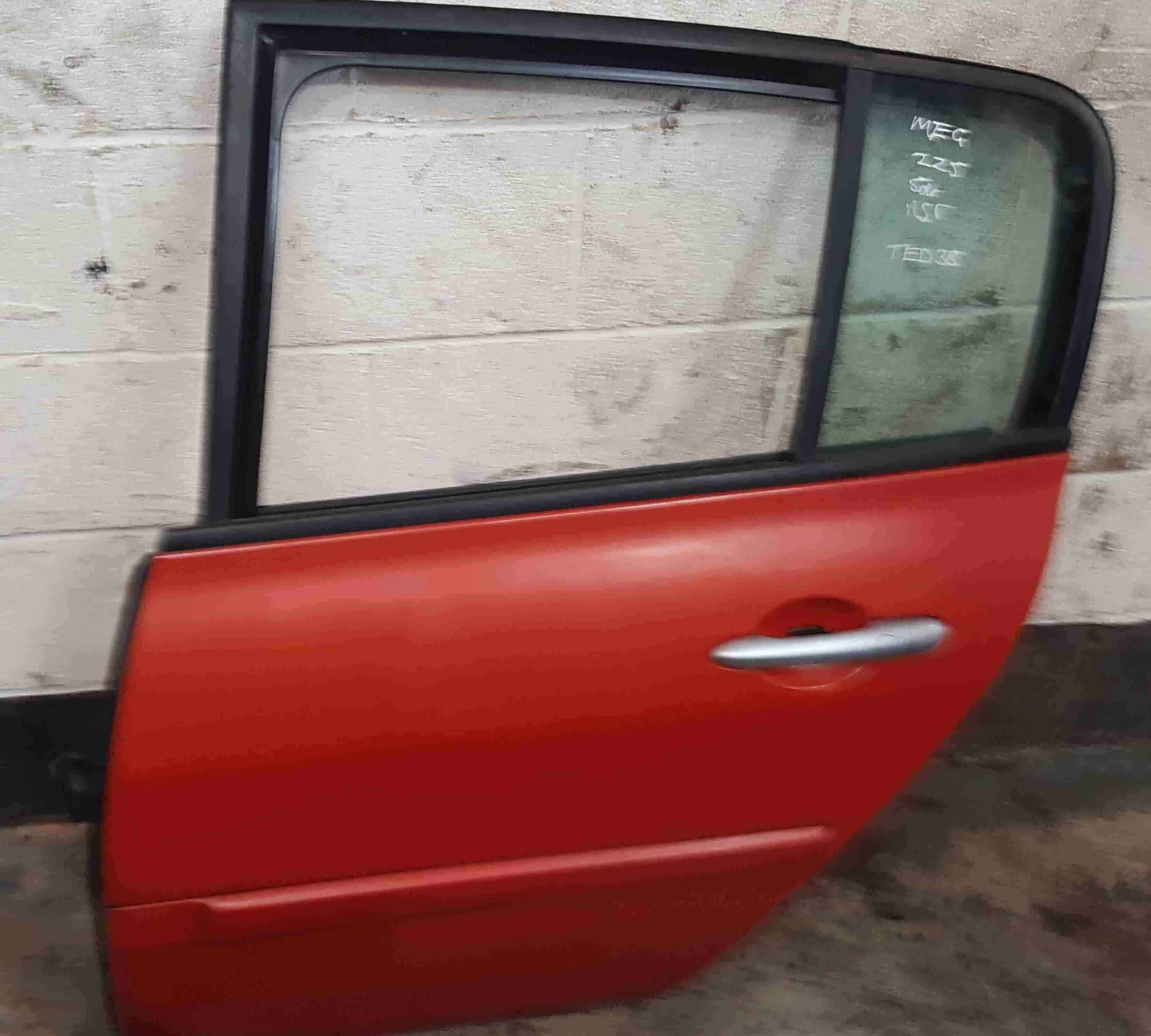 Renault Megane Sport MK2 2002-2008 225 Passenger NSR Rear Door Red TED38