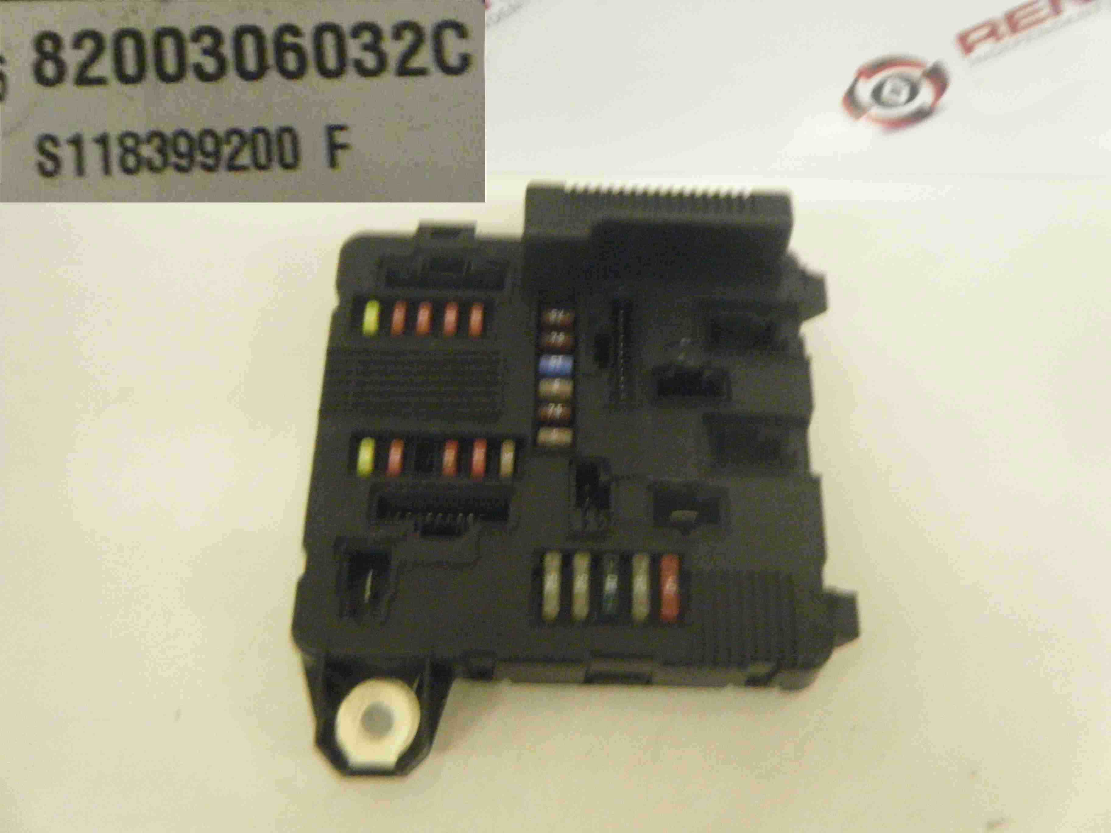 renault megane scenic 2003-2008 fuse box relay bcm ... renault trafic 2003 fuse box