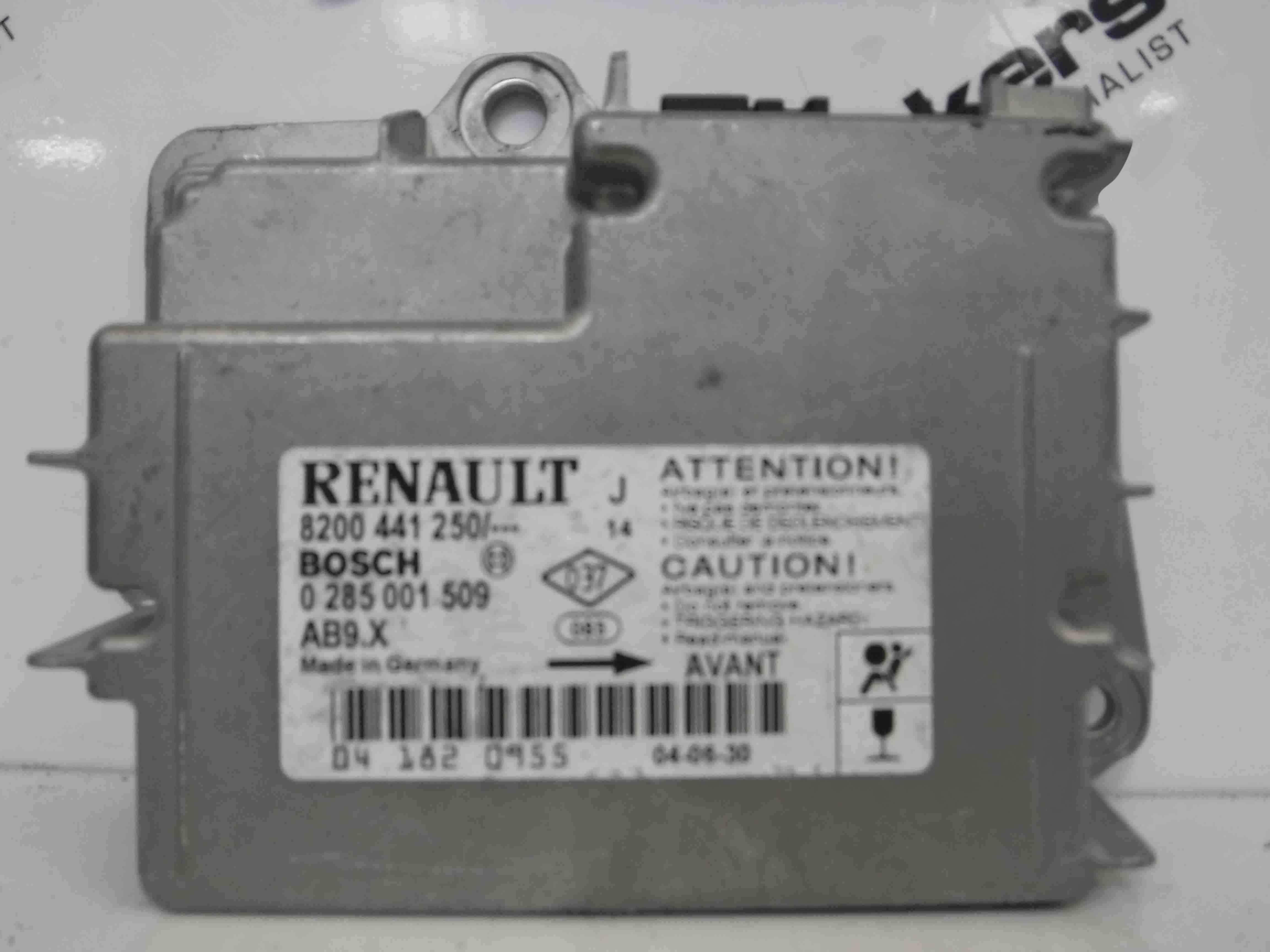 Renault Modus 2004-2008 Airbag ECU Module Computer 8200441250