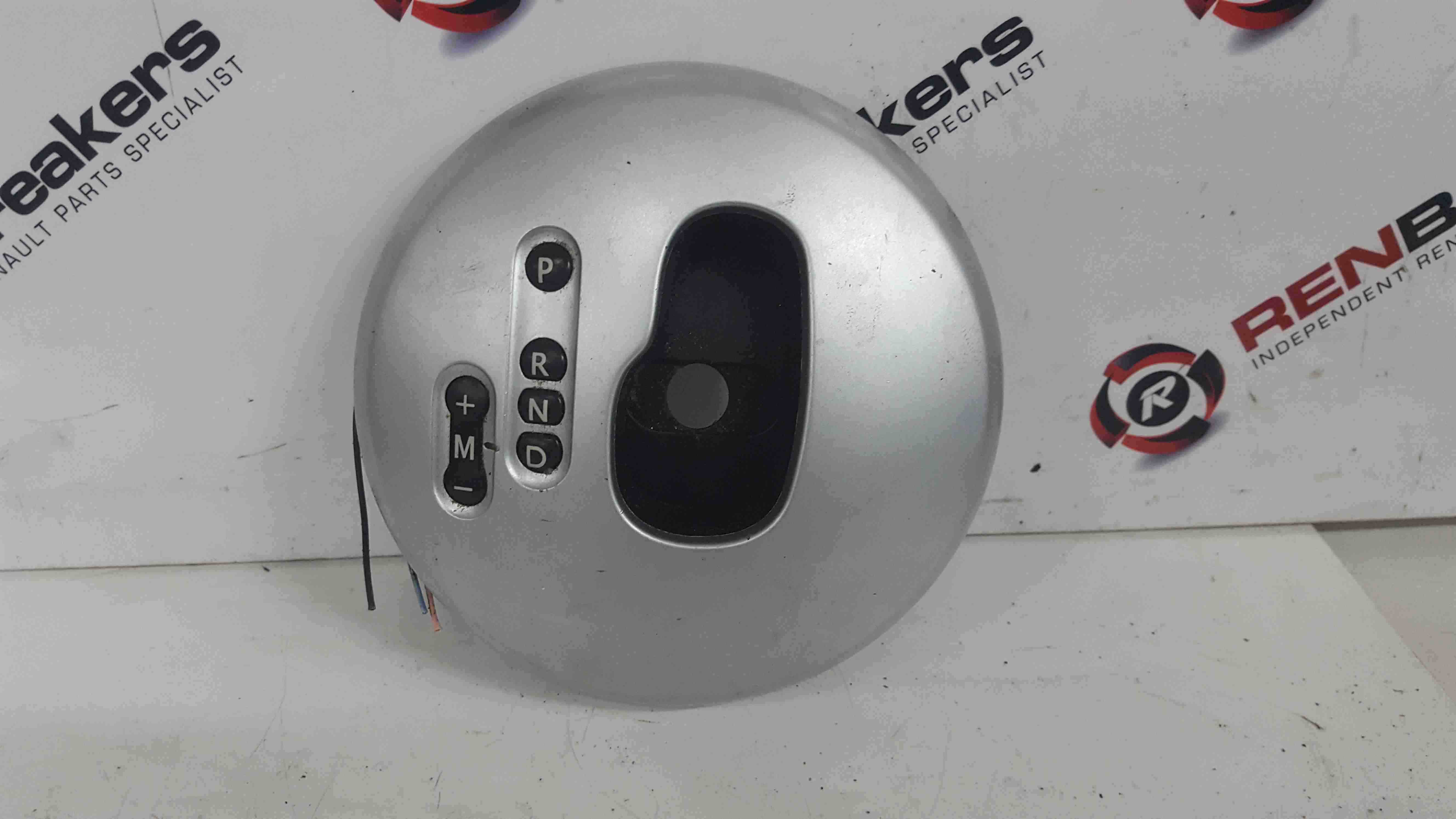 Renault Modus 2004-2008 Automatic Gearstick Surround Silver 8200112157