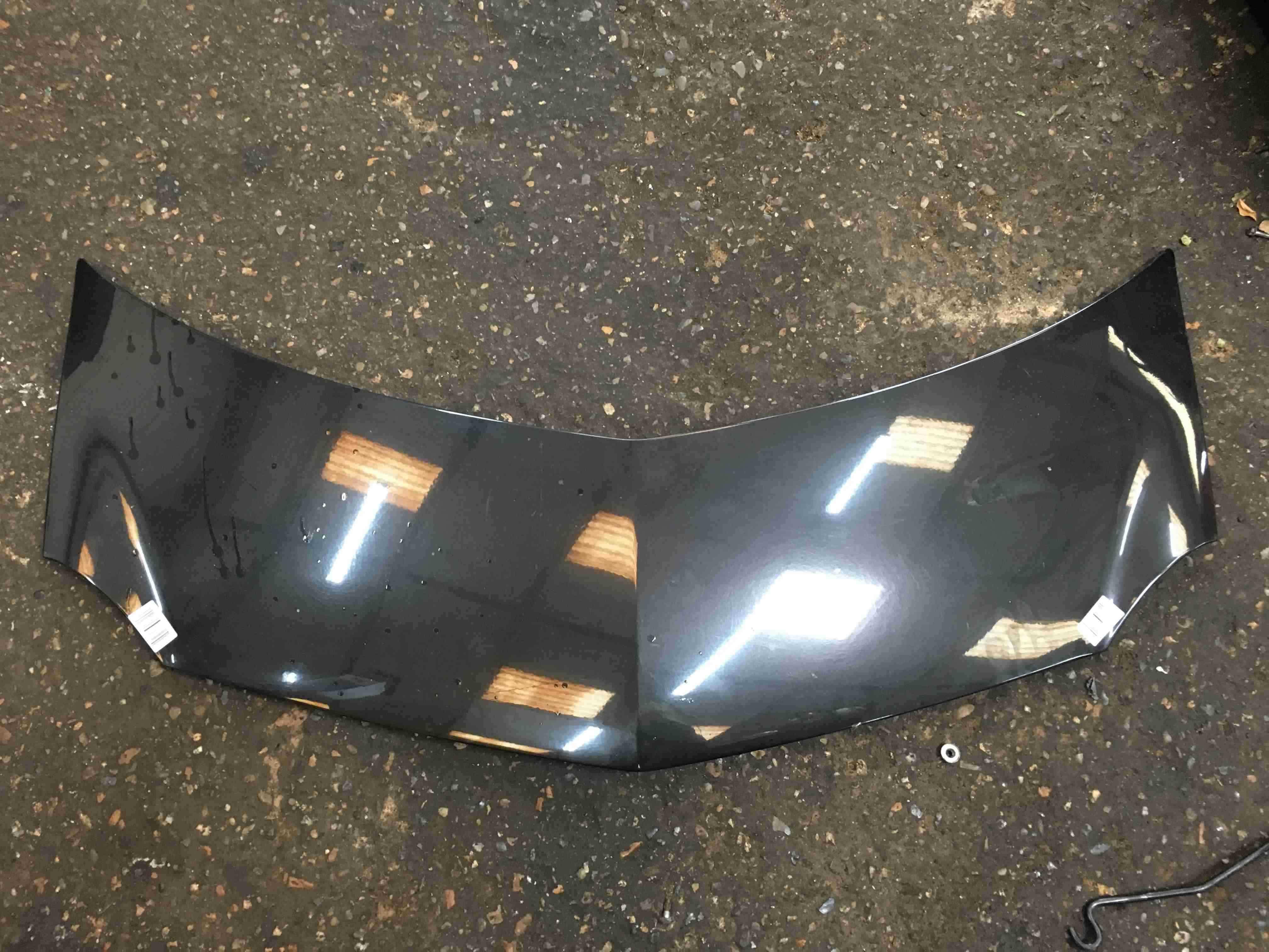 Renault Modus 2004-2008 Front Bonnet Black 676