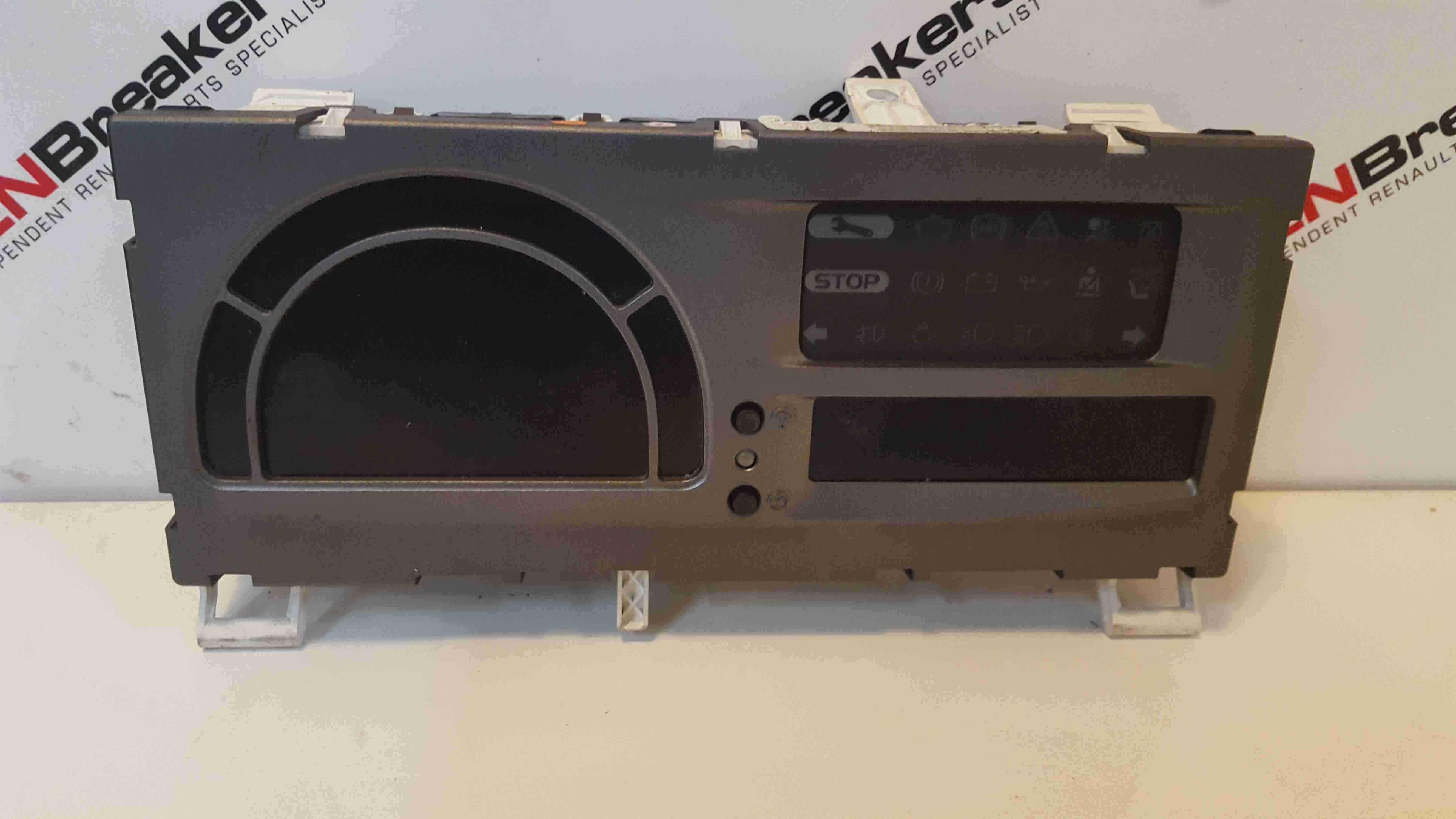 Renault Modus 2004-2008 Instrument Panel Dials Clocks S Auto 8200453604