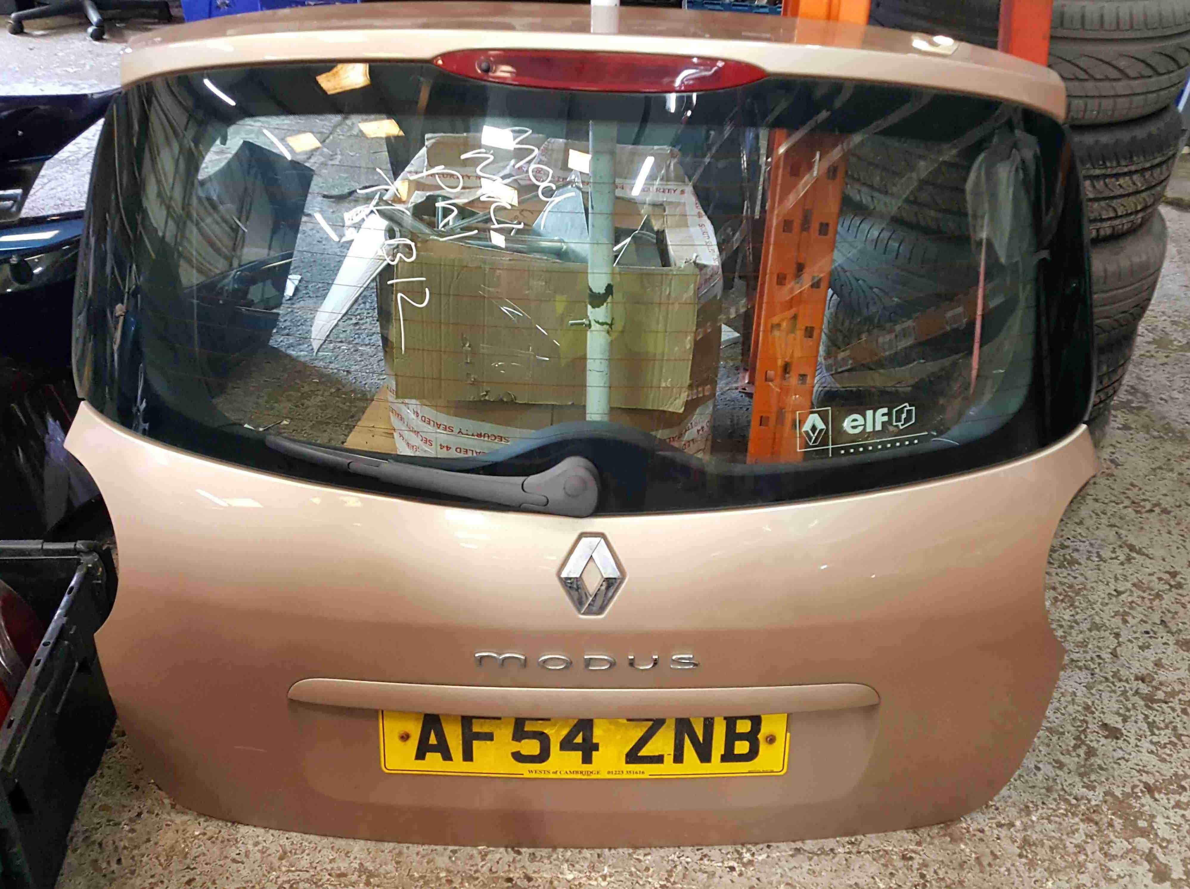 Renault Modus 2004-2008 Rear Tailgate Boot Gold TED12