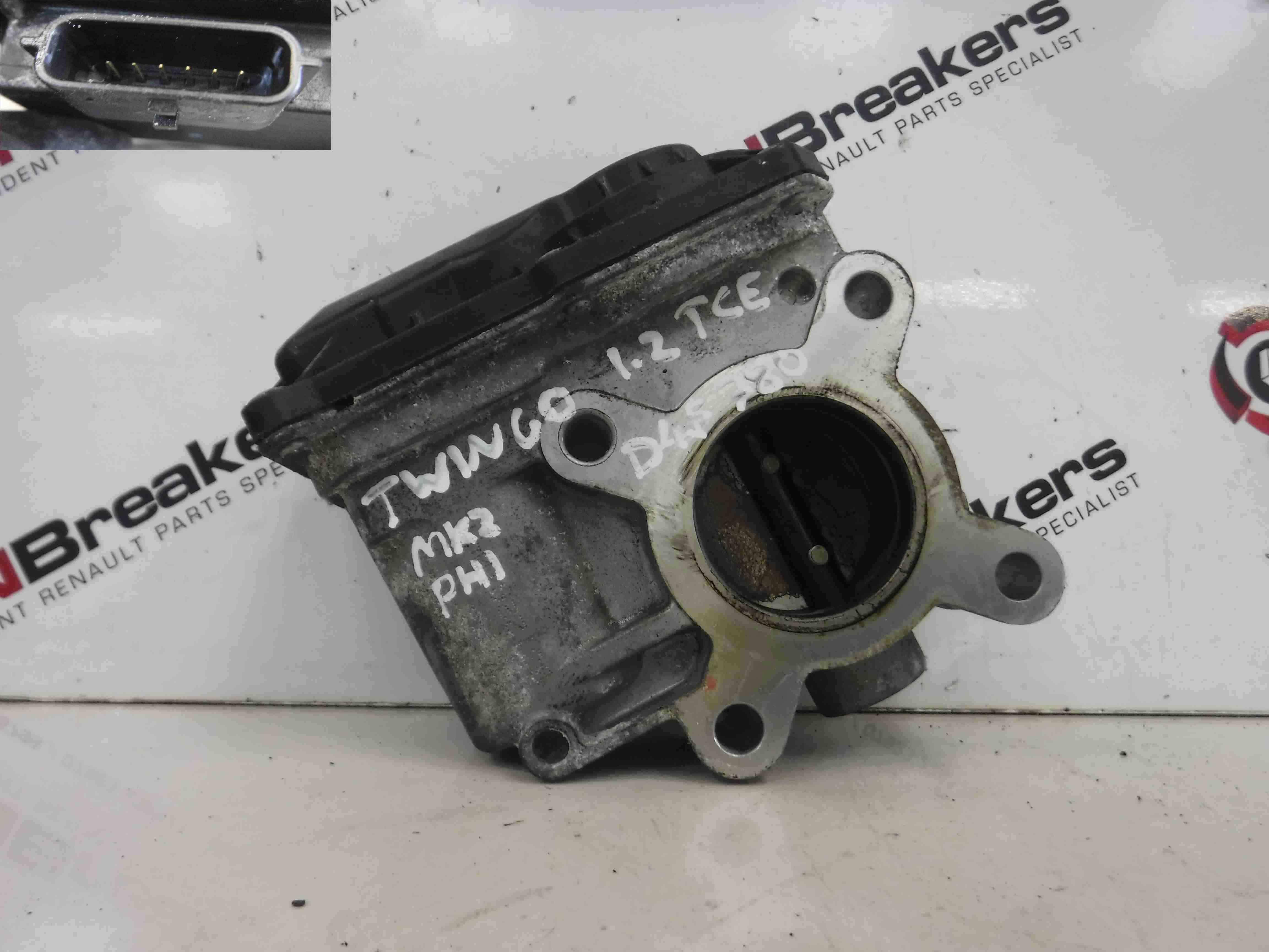 Renault Modus 2008-2012 + Wind 1.2 16v Turbo TCE Throttle Body 8200570865