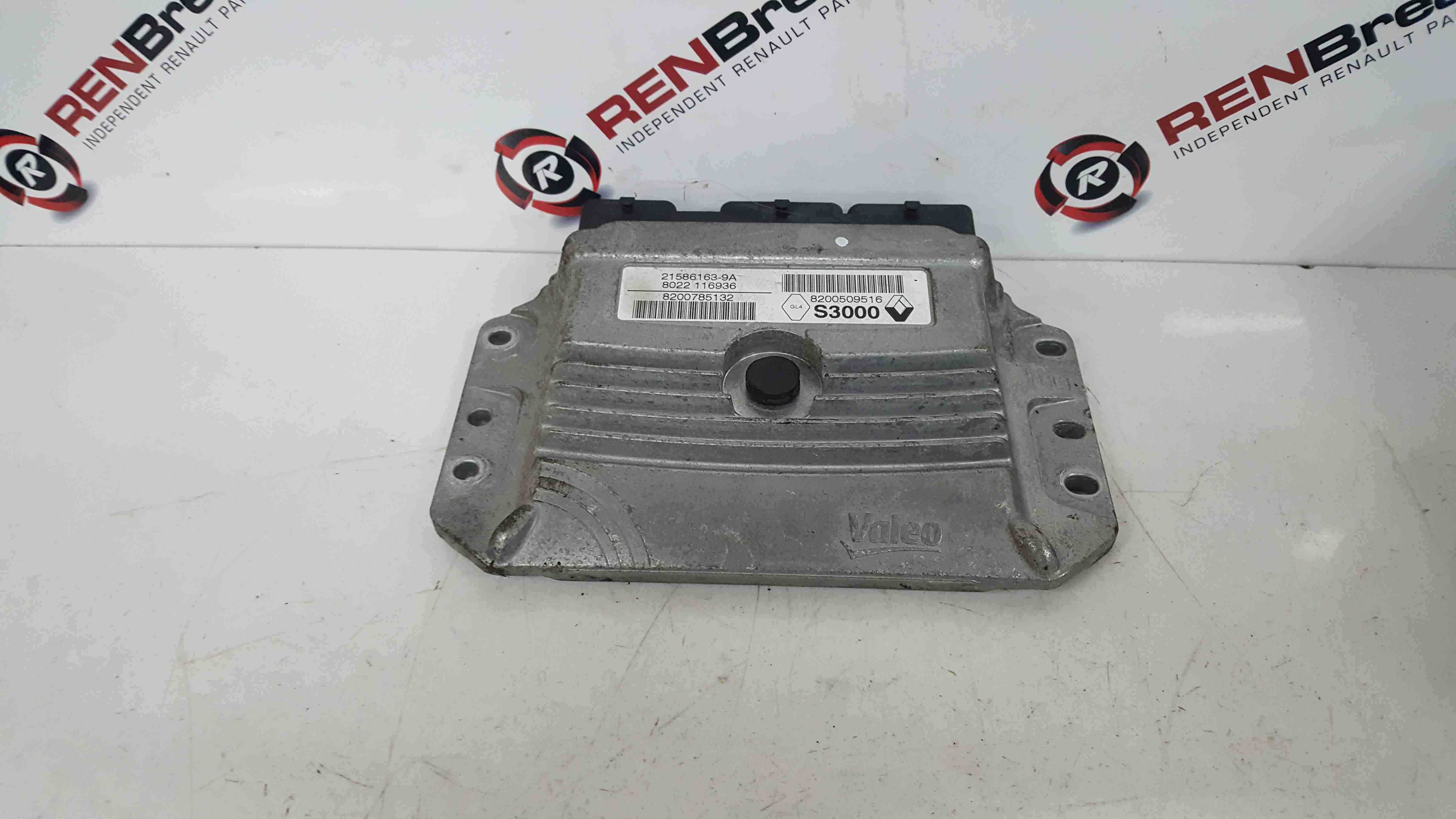 Renault Scenic 2003-2009  1.6 16v Engine Control Unit ECU 8200509516 8200785132