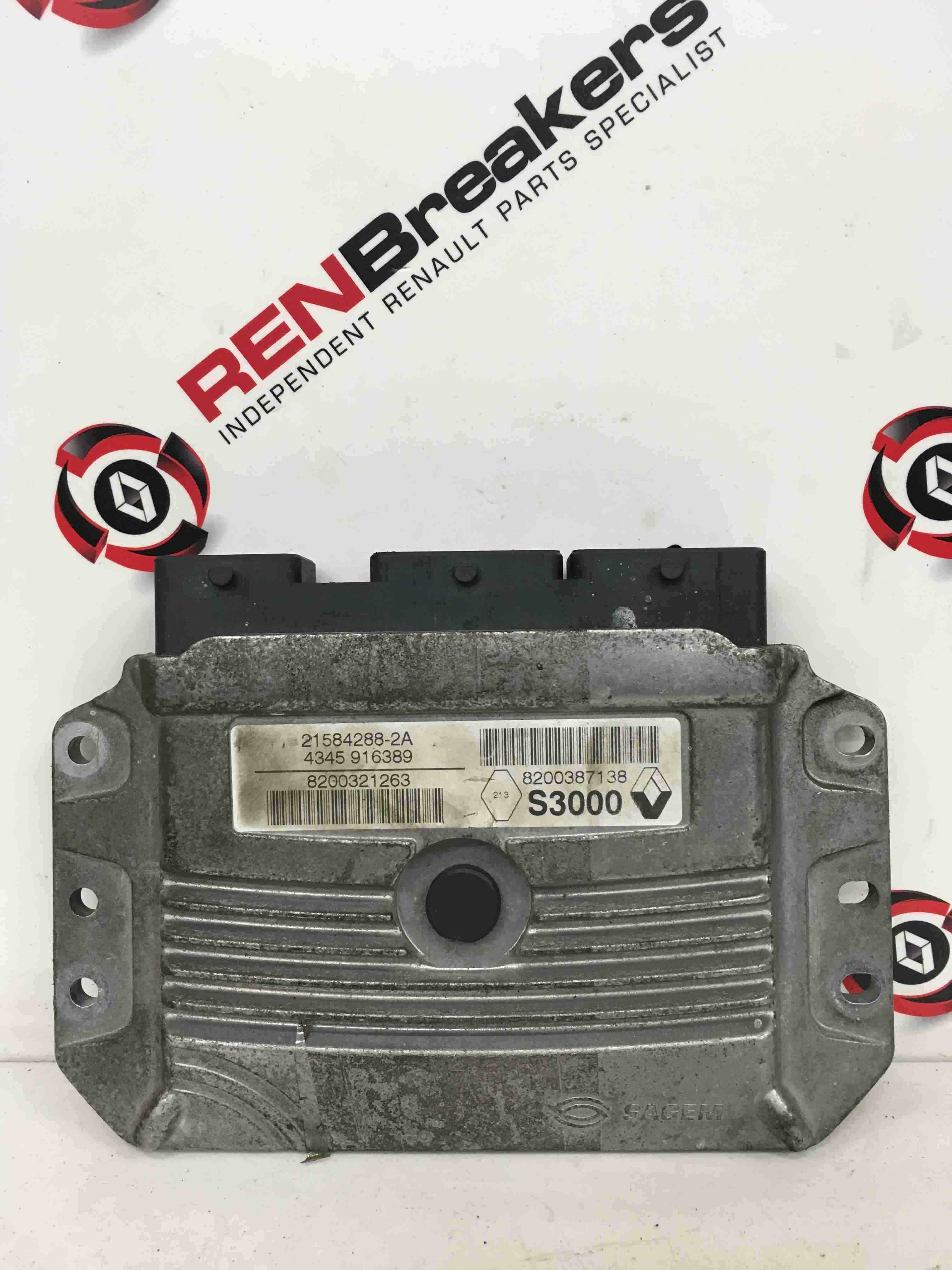 Renault Scenic 2003-2009 2.0 16v Automatic Gearbox ECU Computer 8200321263