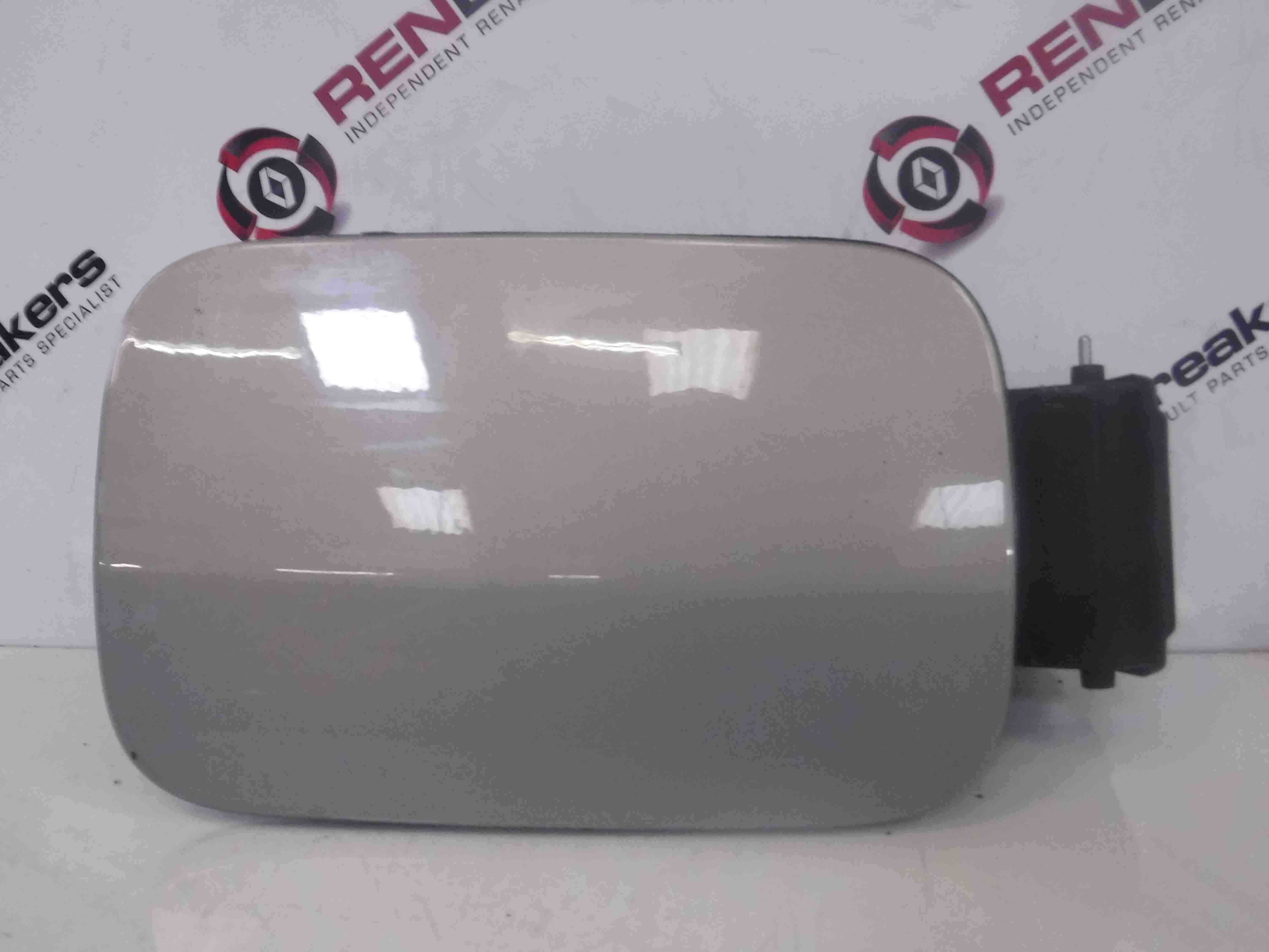 Renault Scenic 2003-2009 Fuel Flap Cover Silver + Hinges TEA19 8200228509