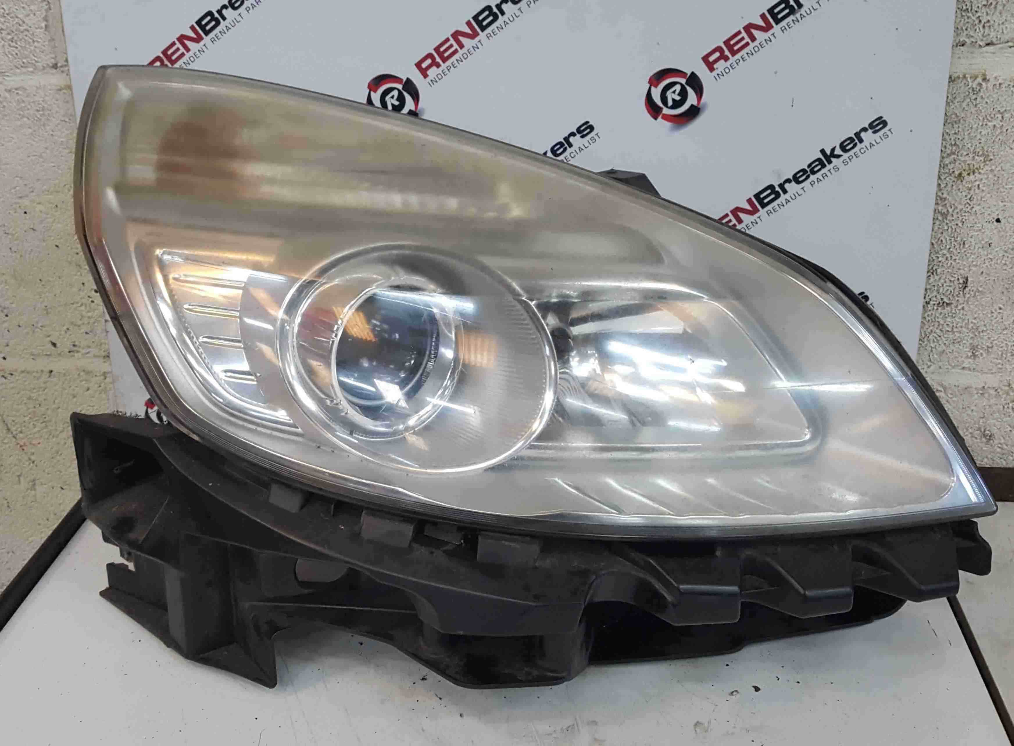 Renault Scenic 2006-2009 Drivers OSF Front Headlight Slightly Cloudy