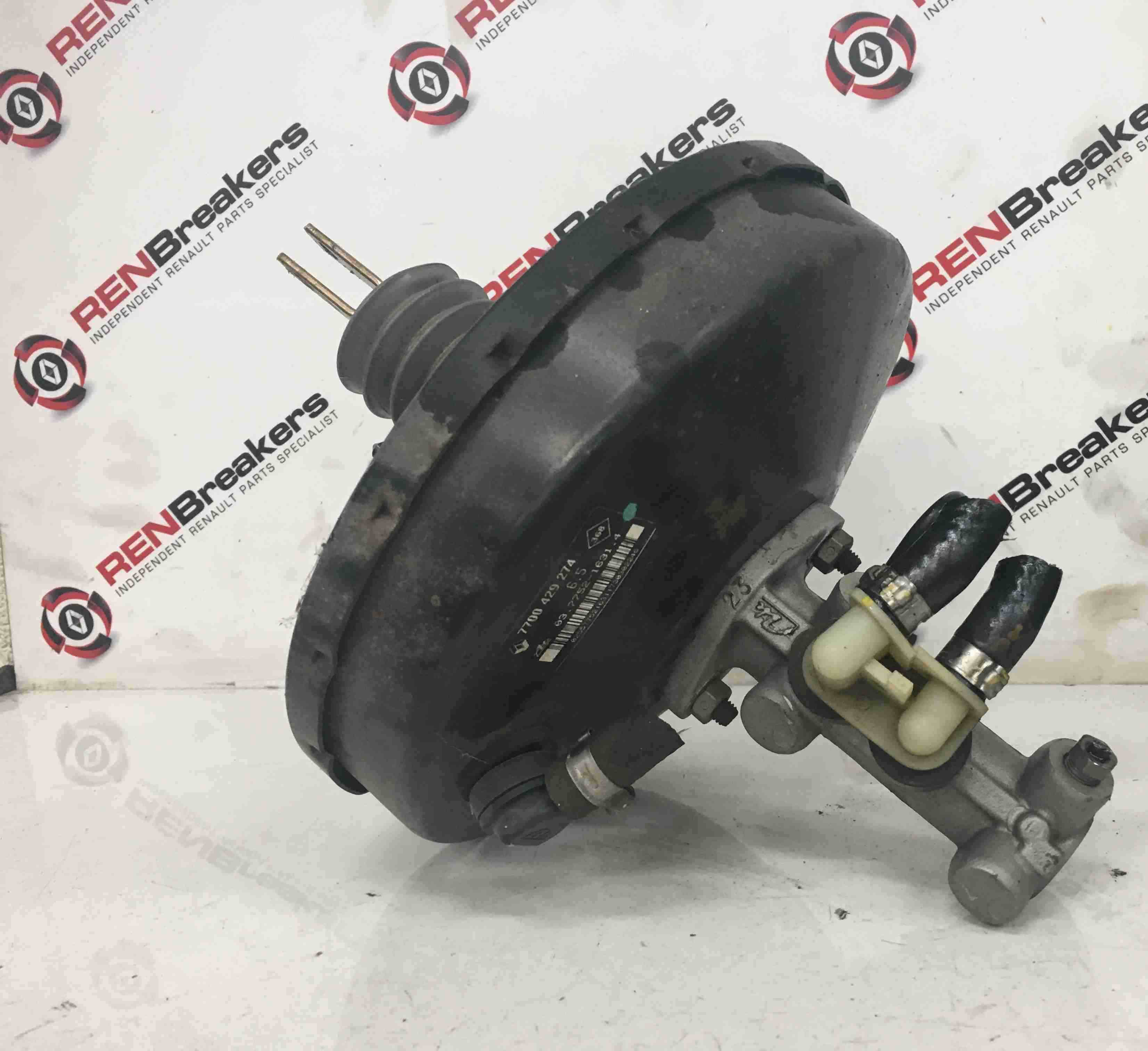 Renault Scenic MK1 1999-2003 Brake Master Cylinder + Servo Unit 7700429274