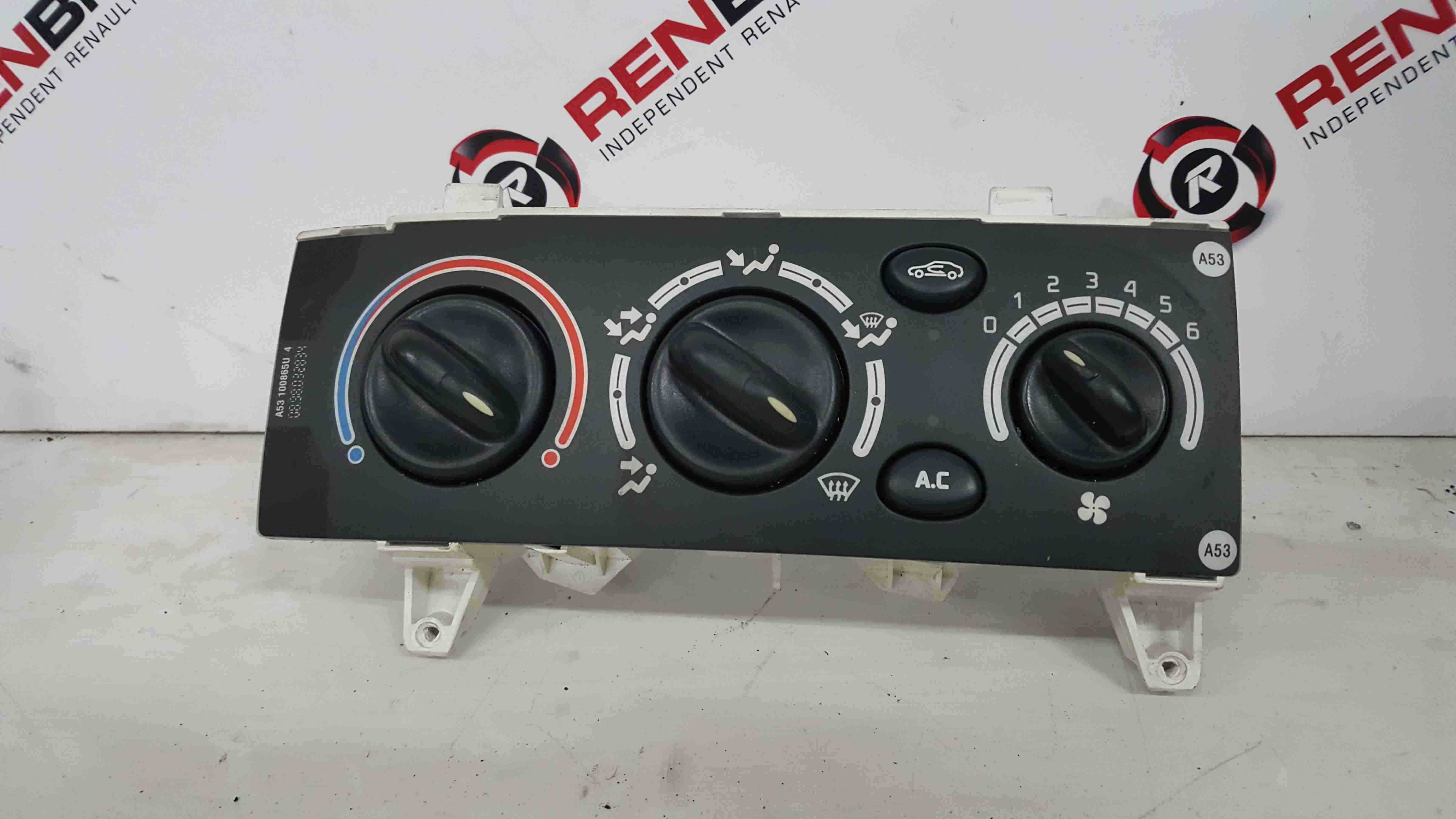 Renault Scenic MK1 1999-2003 Heater Controls Air Con