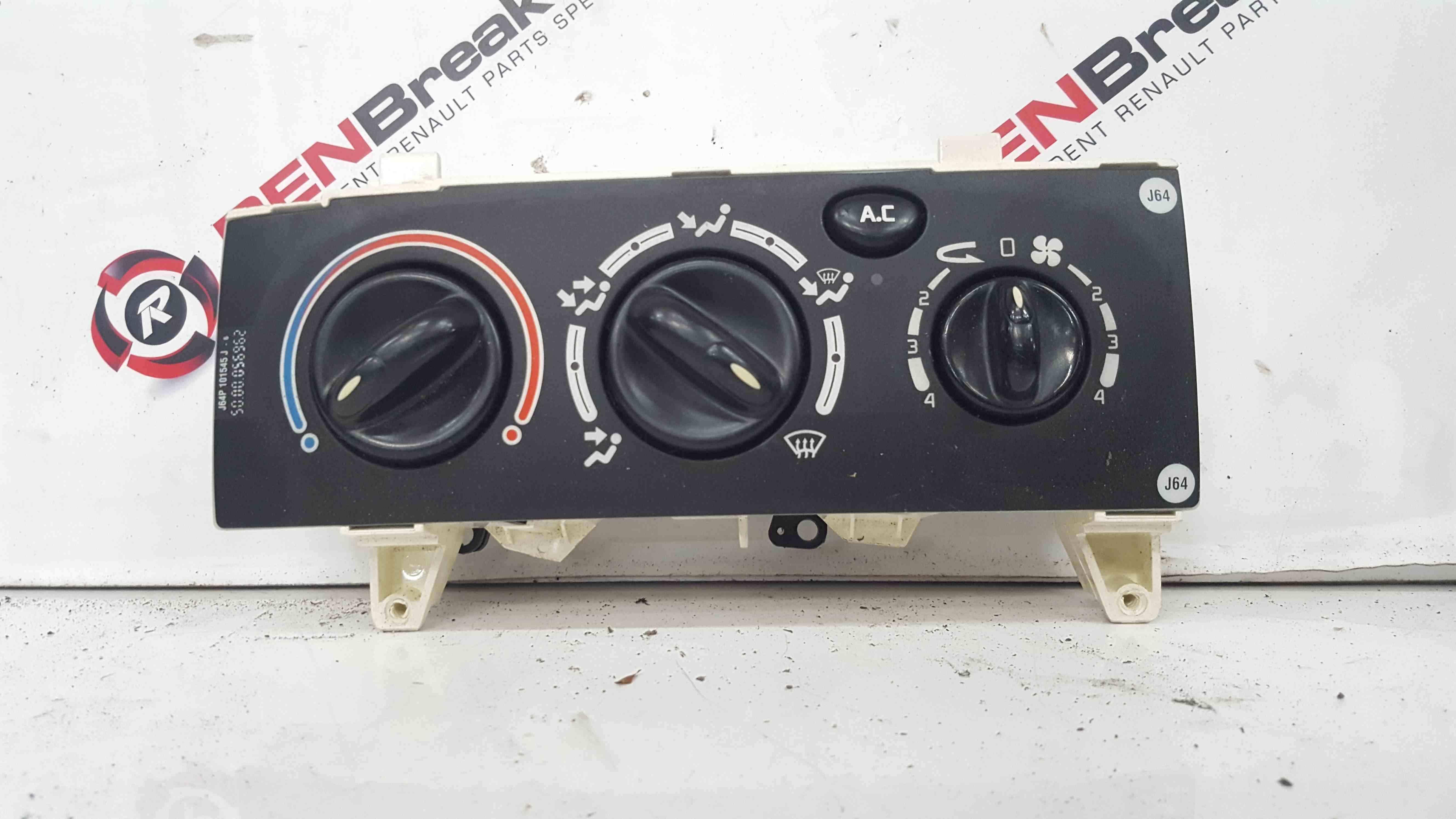 Renault Scenic MK1 1999-2003 Heater Controls Panel