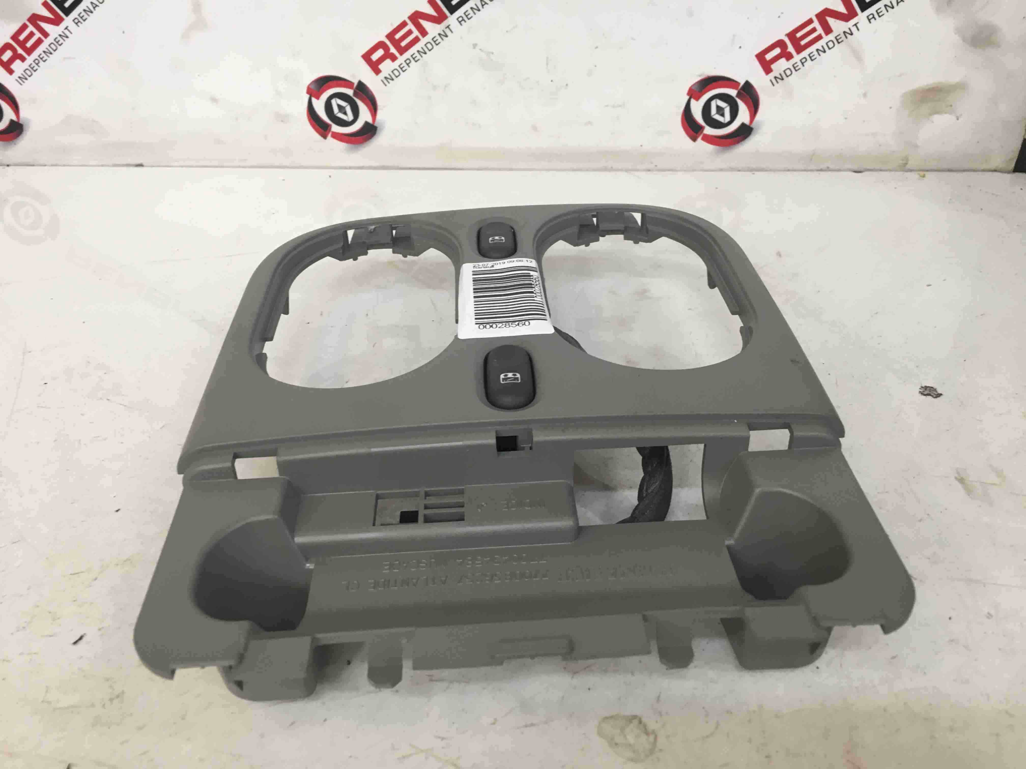 Renault Scenic MK1 1999-2003 Interior Roof Light Surround Switches Light Grey