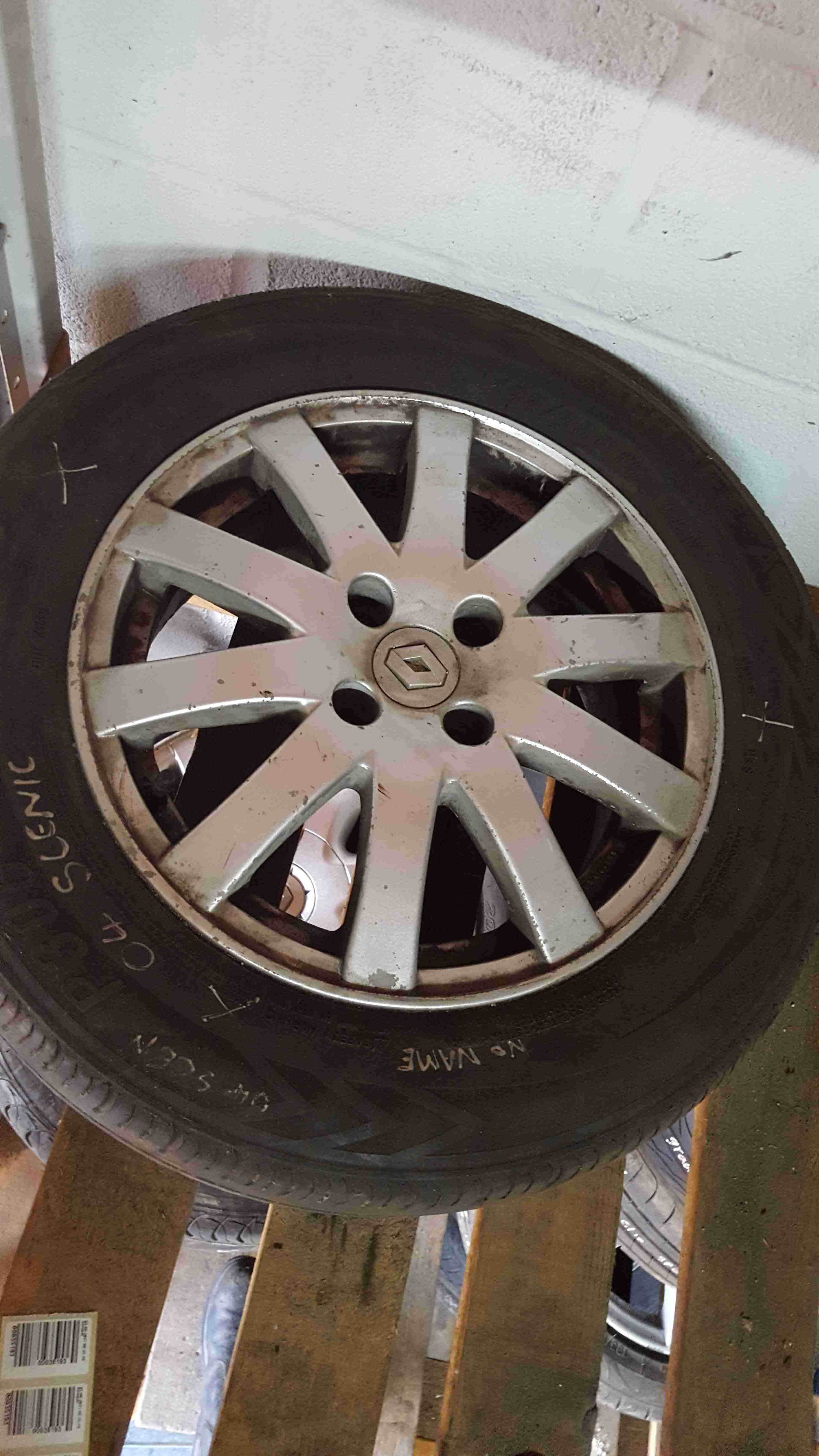 Renault Scenic MK2 2003-2009 Alloy Wheel 15inch
