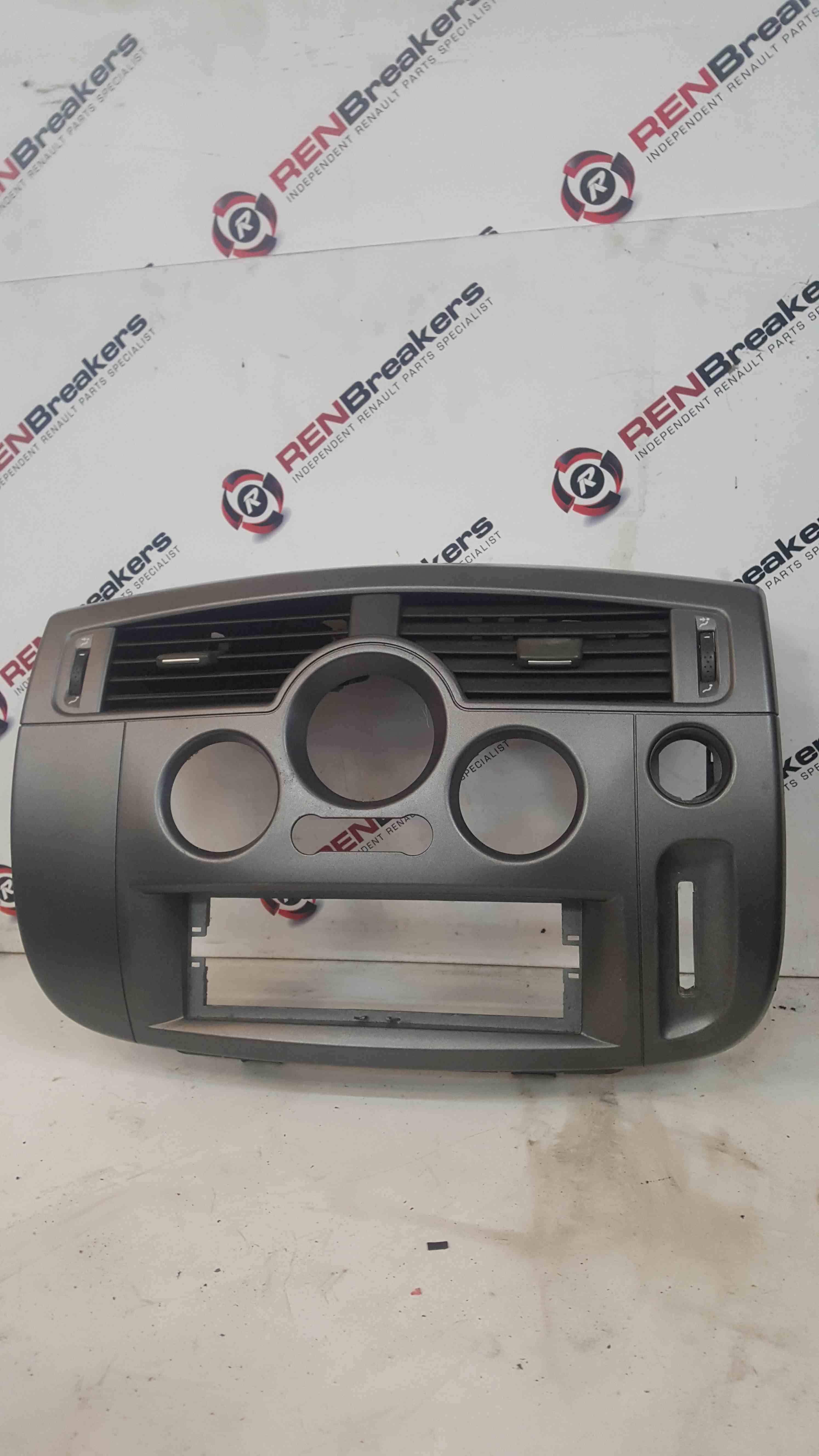 Renault Scenic MK2 2003-2009 Heater Cd Player Surround Trim Panel