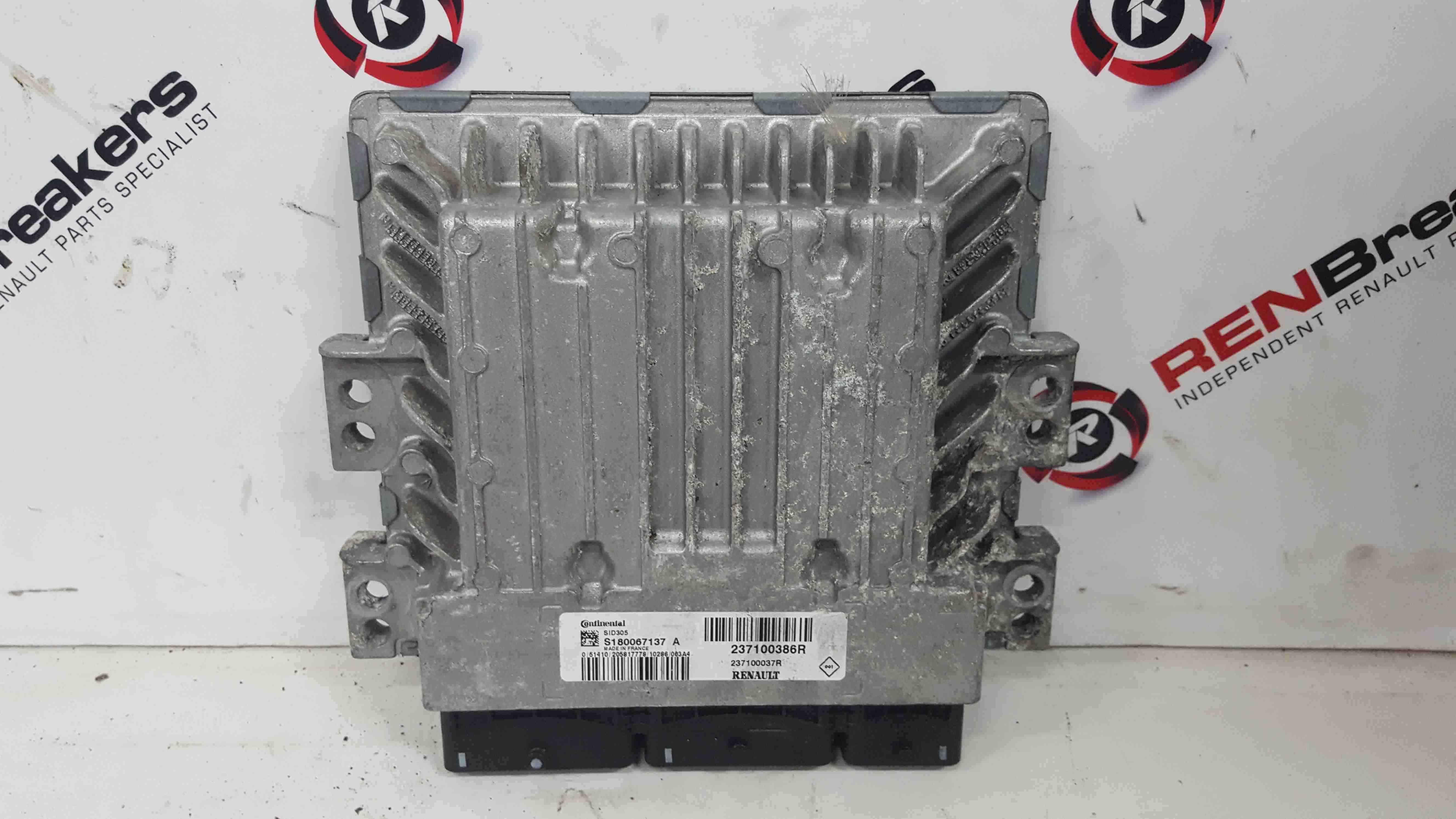 Renault Scenic MK3 2009-2013 1.5 DCi Engine Control Unit ECU 237100386R