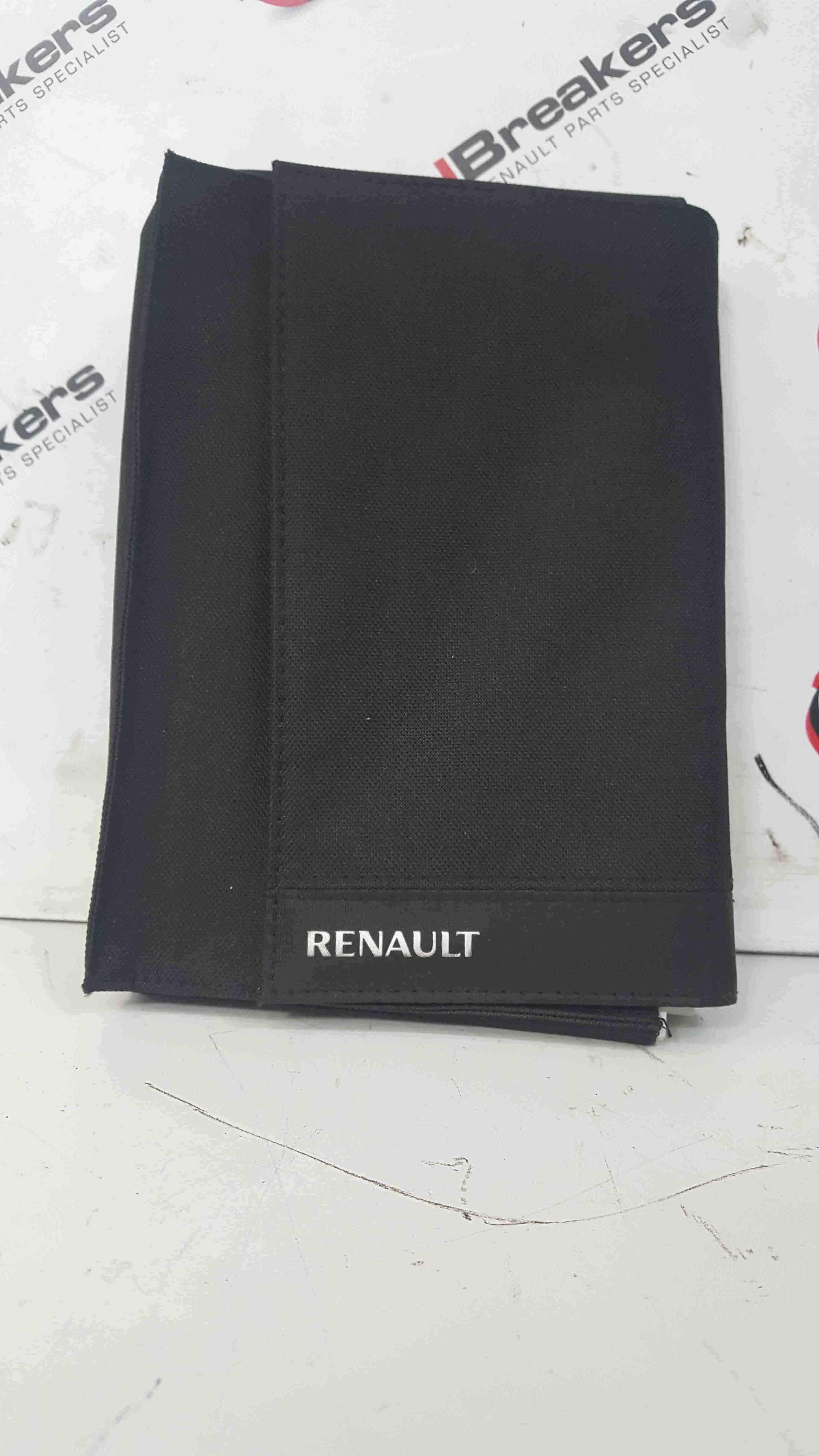 Renault Scenic MK3 2009-2013 Document Wallet Folder