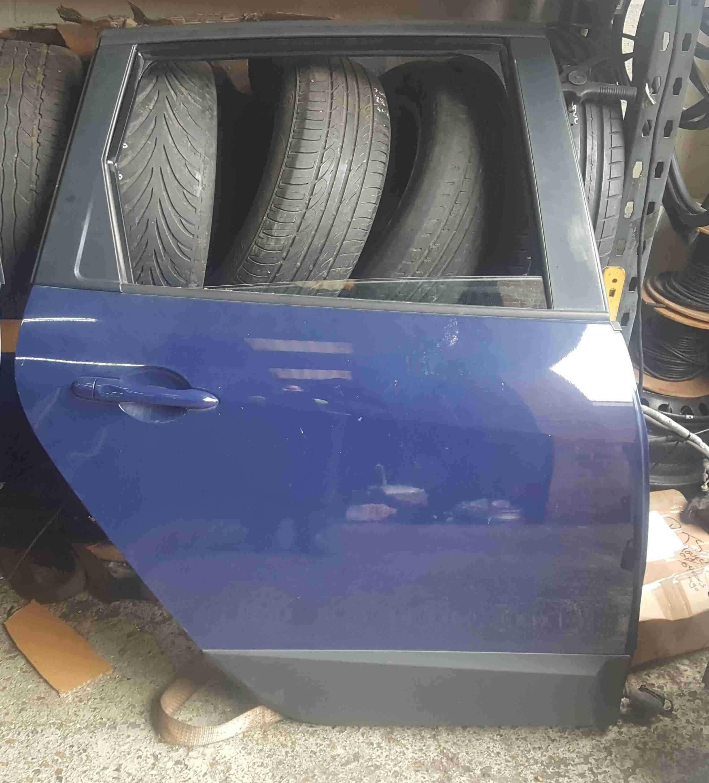 Renault Scenic MK3 2009-2013 Drivers OSR Rear Door Blue OV460
