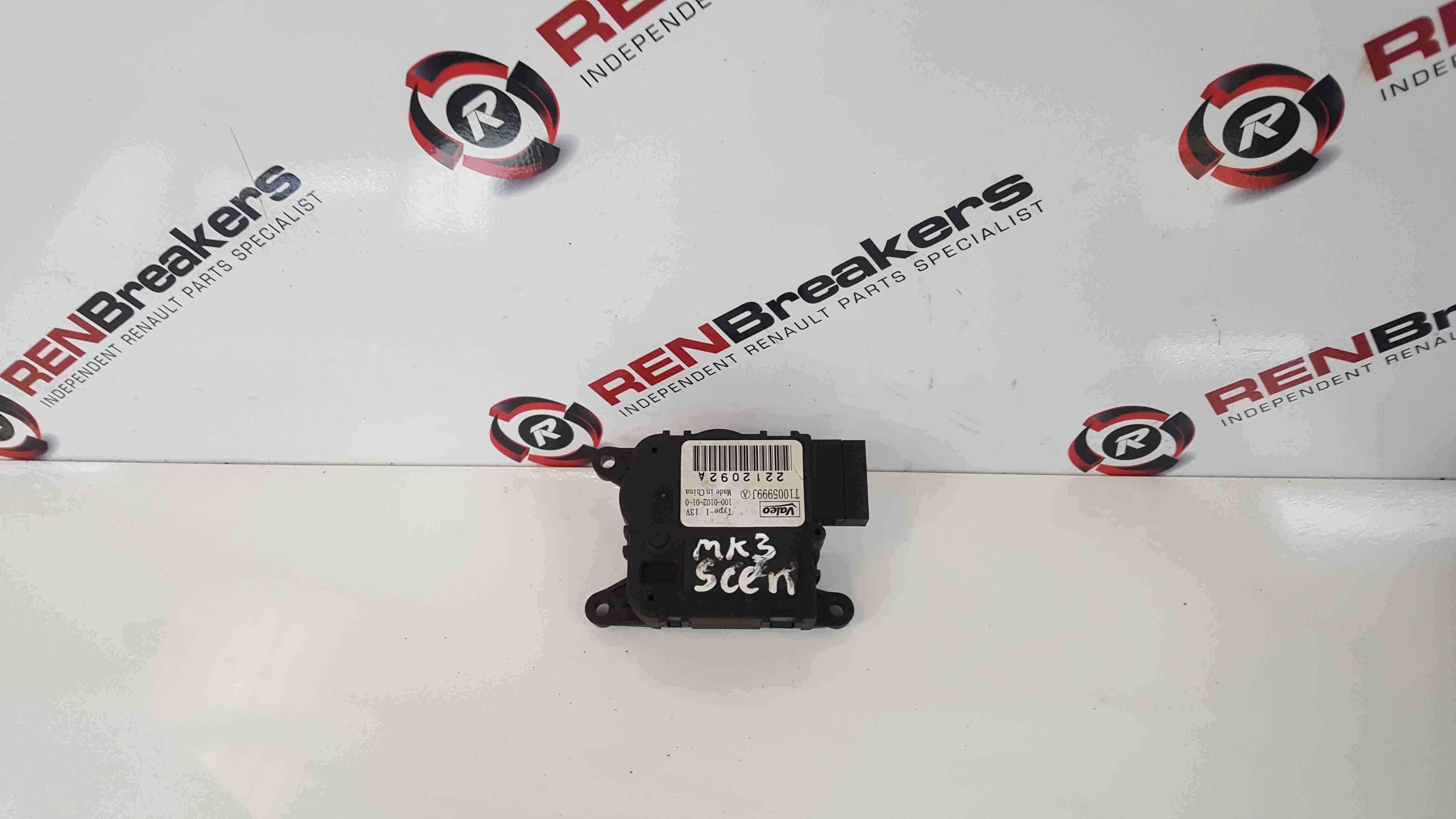 Renault Scenic MK3 2009-2013 Heater Flap Control Valve Module T1005999J