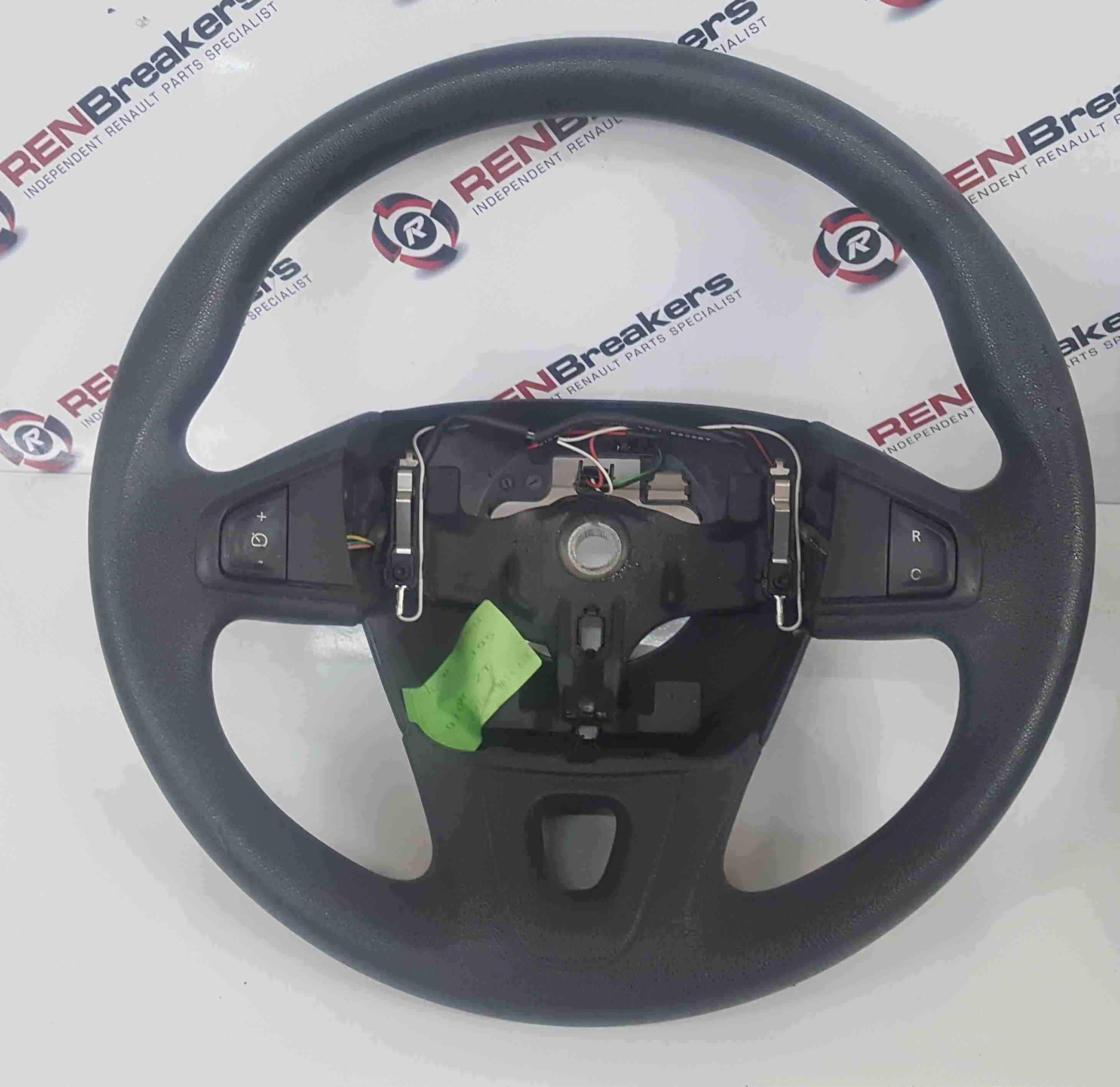 Renault Scenic MK3 2009-2013 Steering Wheel Plain Black Cruise Control