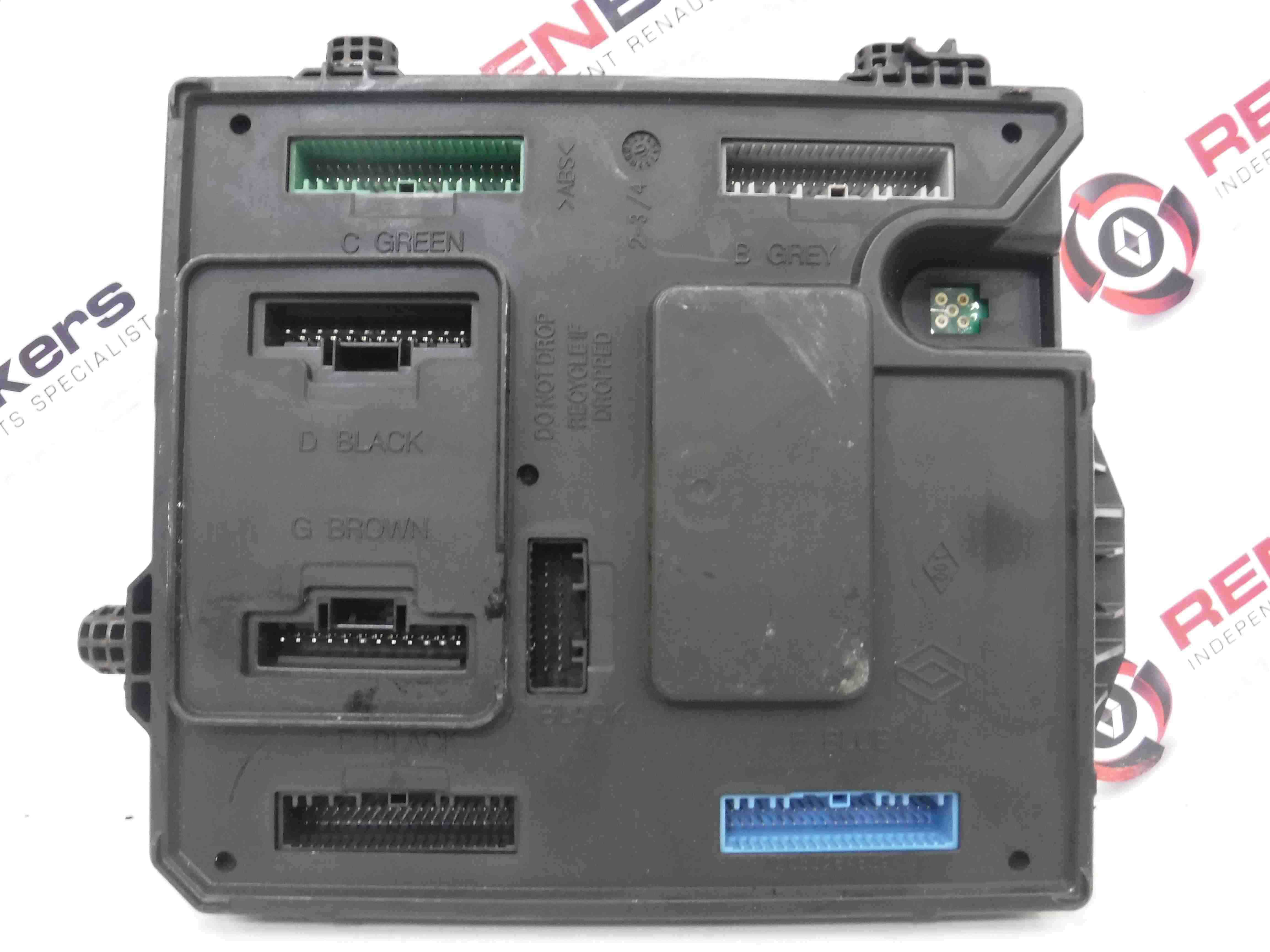 Renault scenic mk dci engine fuse box uch