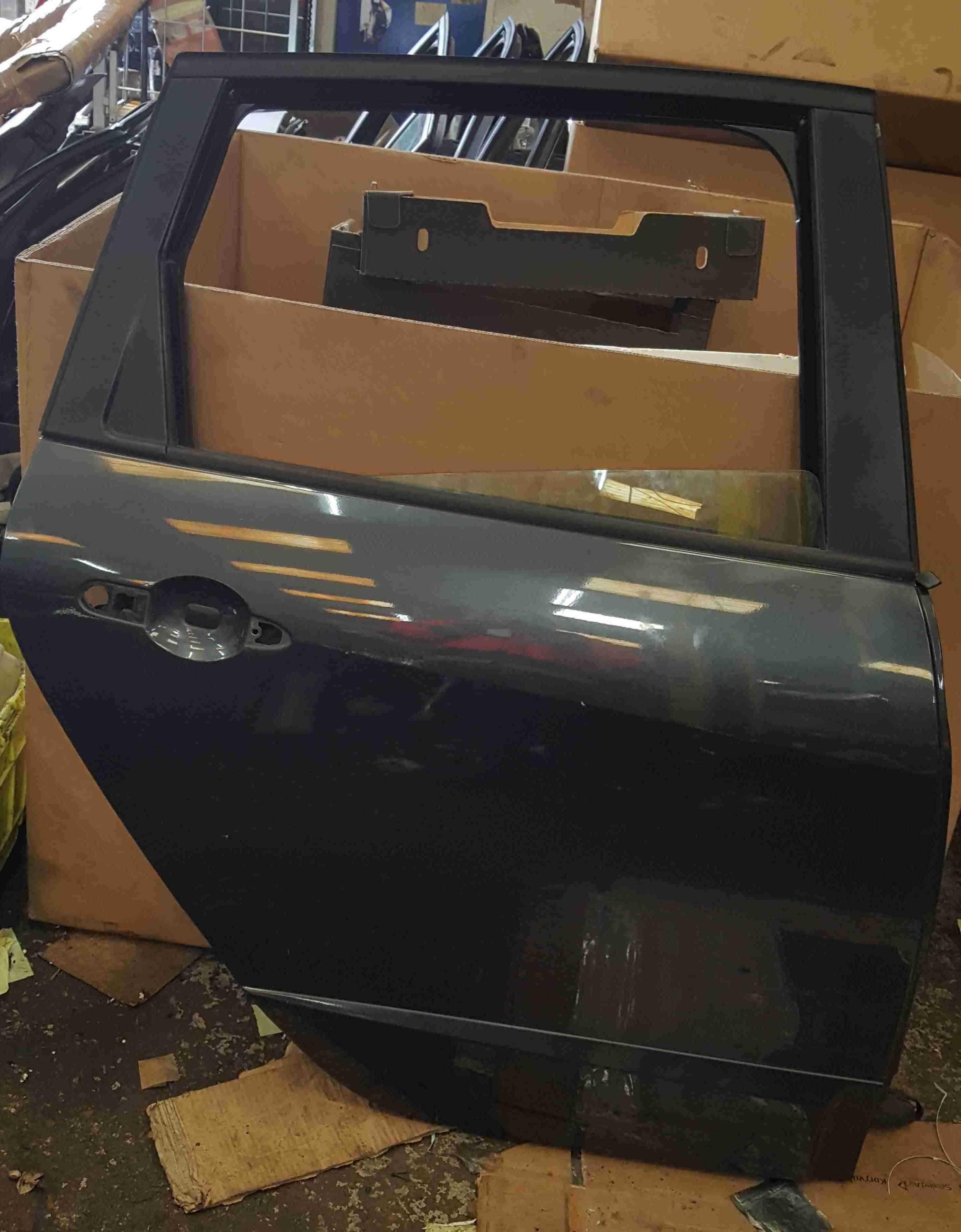 Renault Scenic MK3 2009-2016 Drivers OSR Rear Door Grey TEB66
