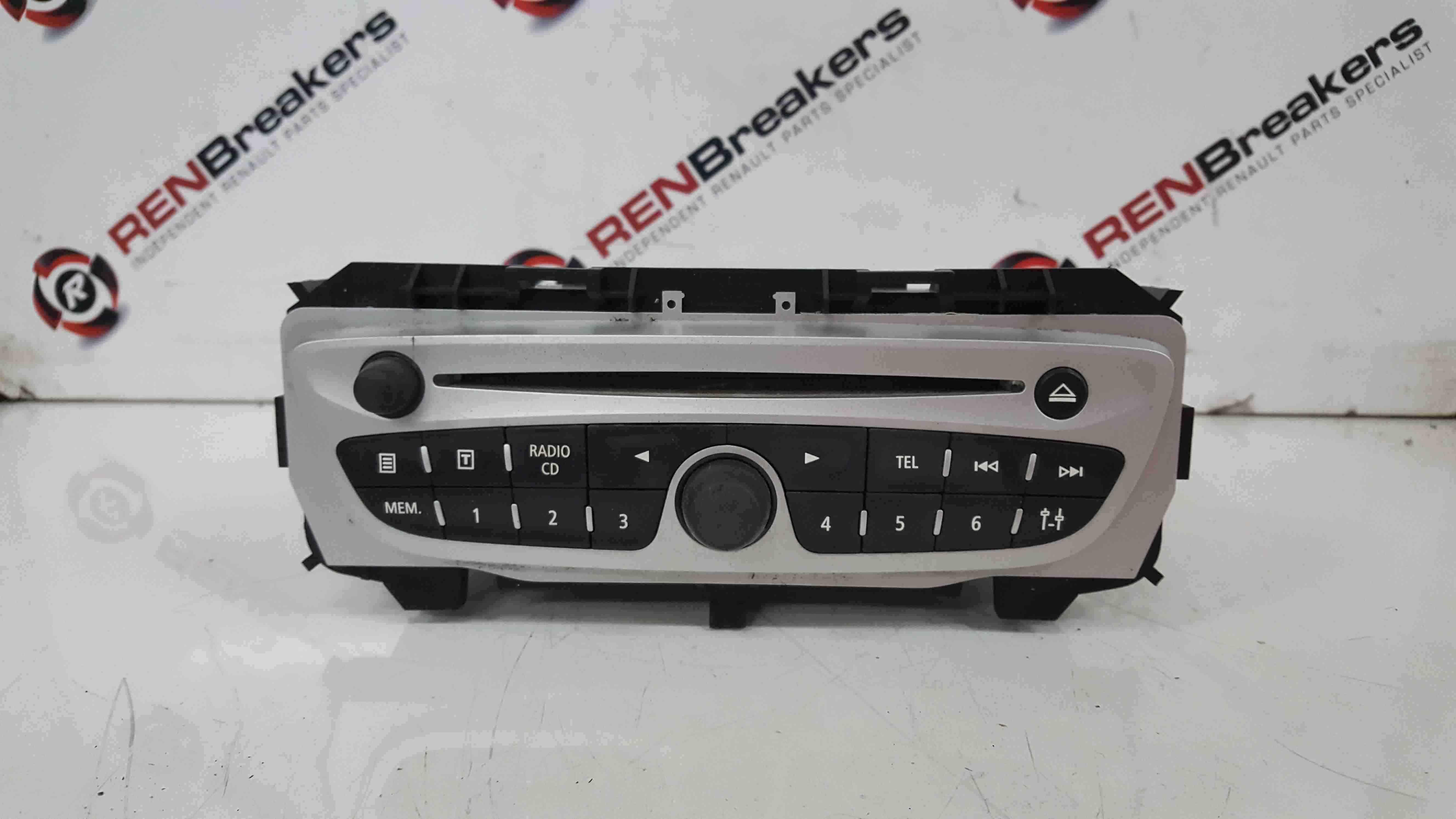 Renault Scenic MK3 2009-2016 Sat Nav Radio Cd Player 281151461R